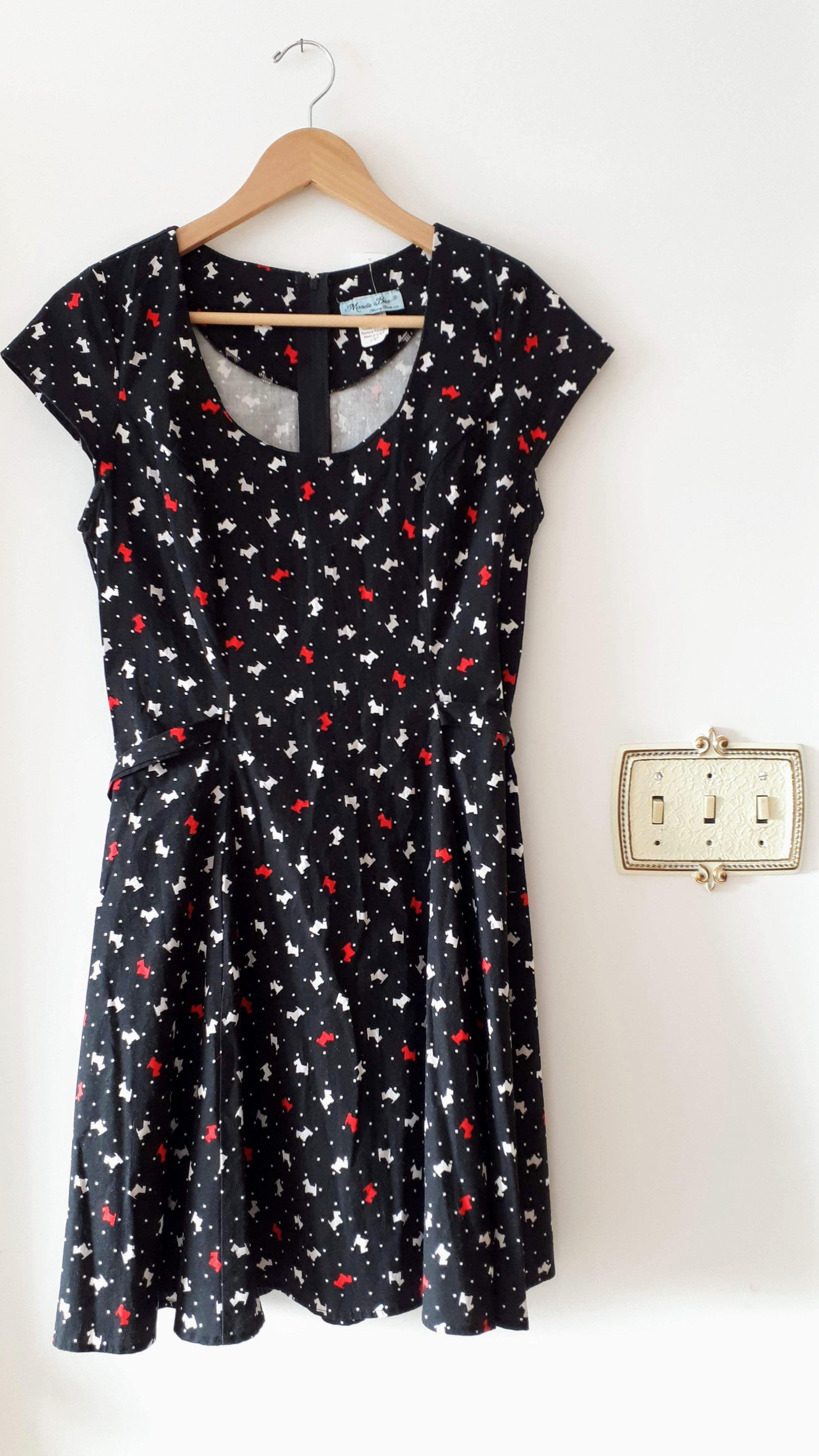 Mandie Bee dress; Size L, $42