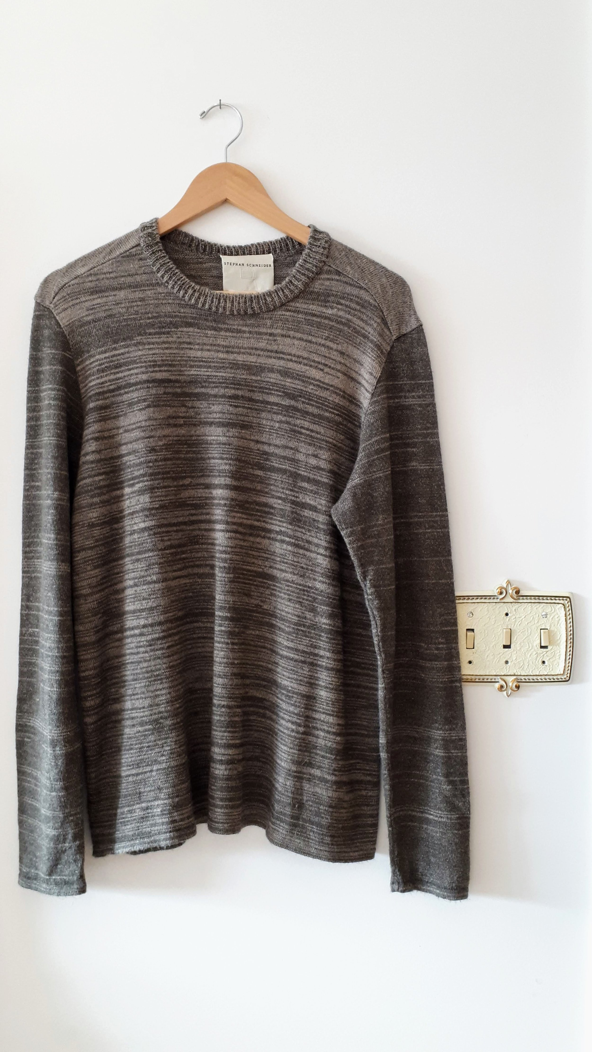 Mens Stephan Schneider sweater; Size M, $58