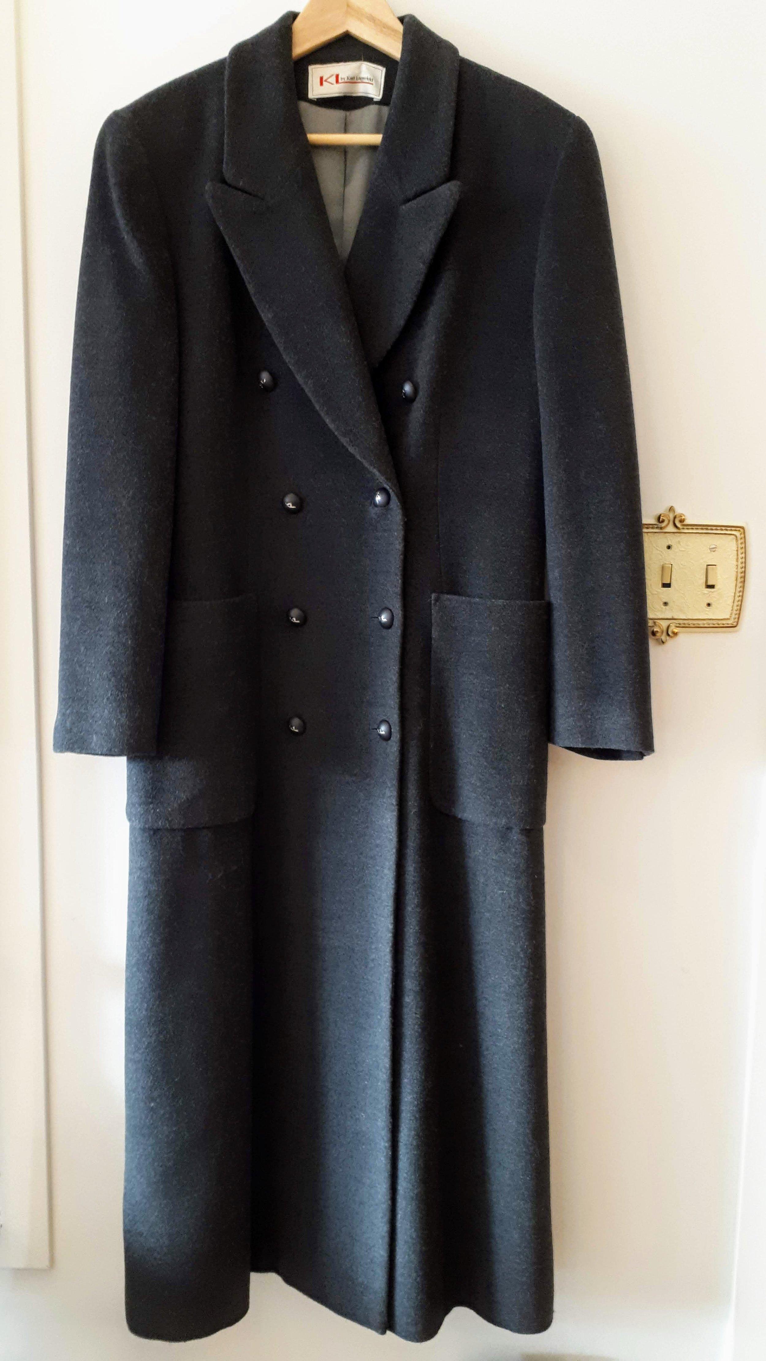 Karl Lagerfeld coat; Size S, $125