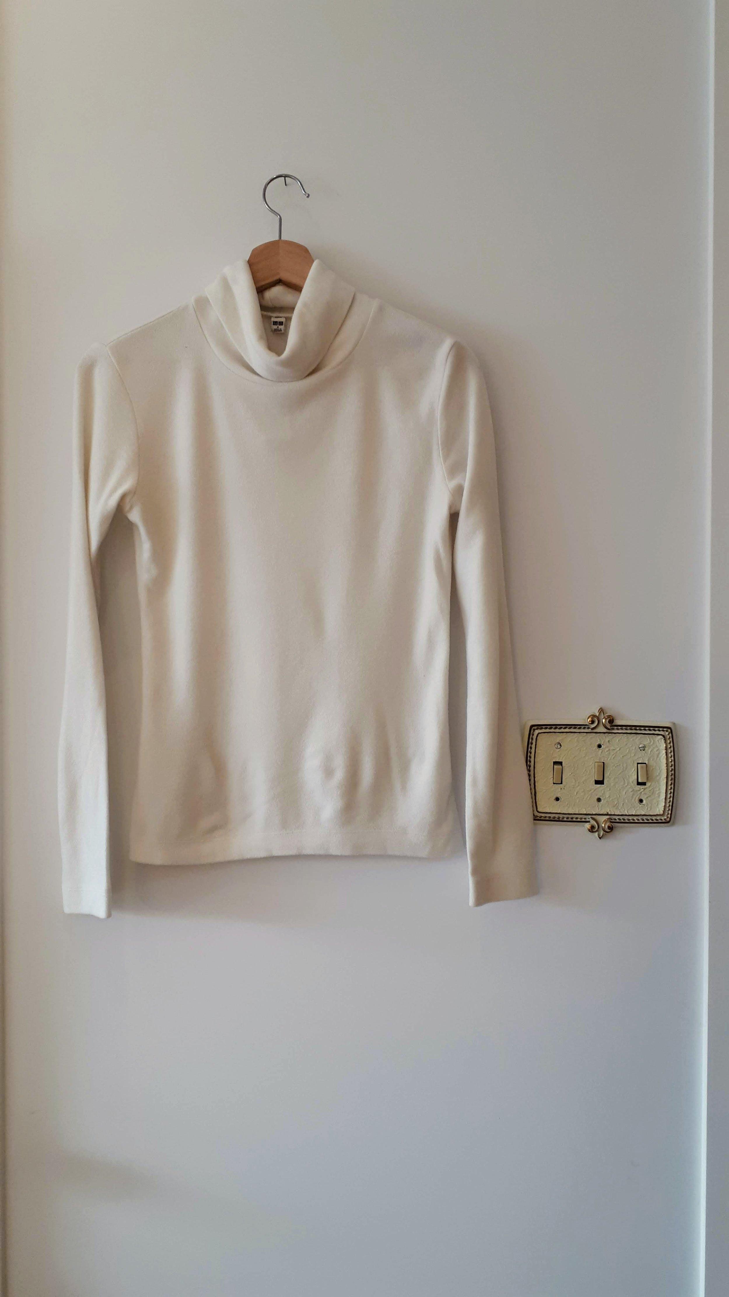 Uniqlo top; Size M, $20