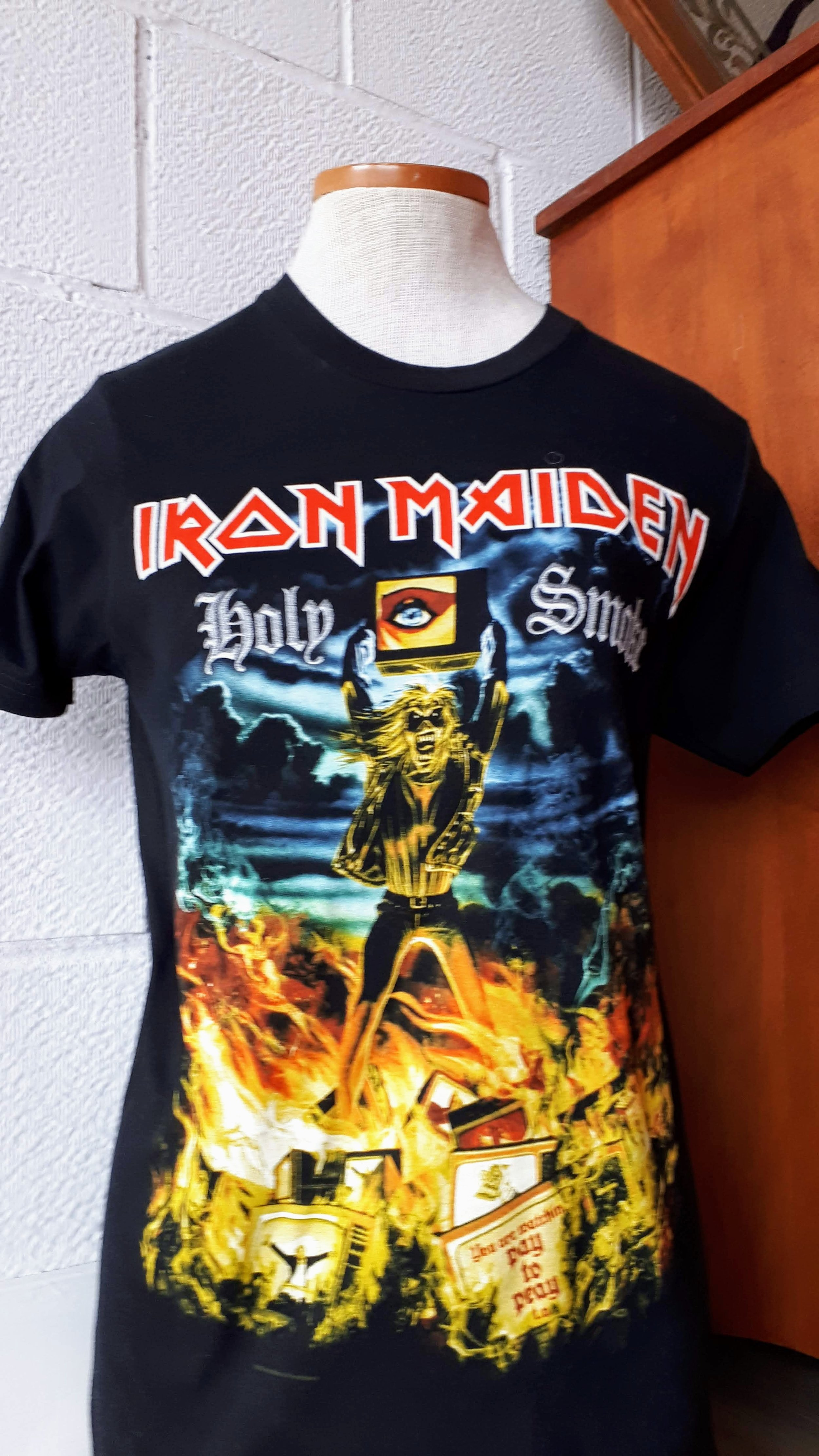 Iron Maiden top; Size S, $24