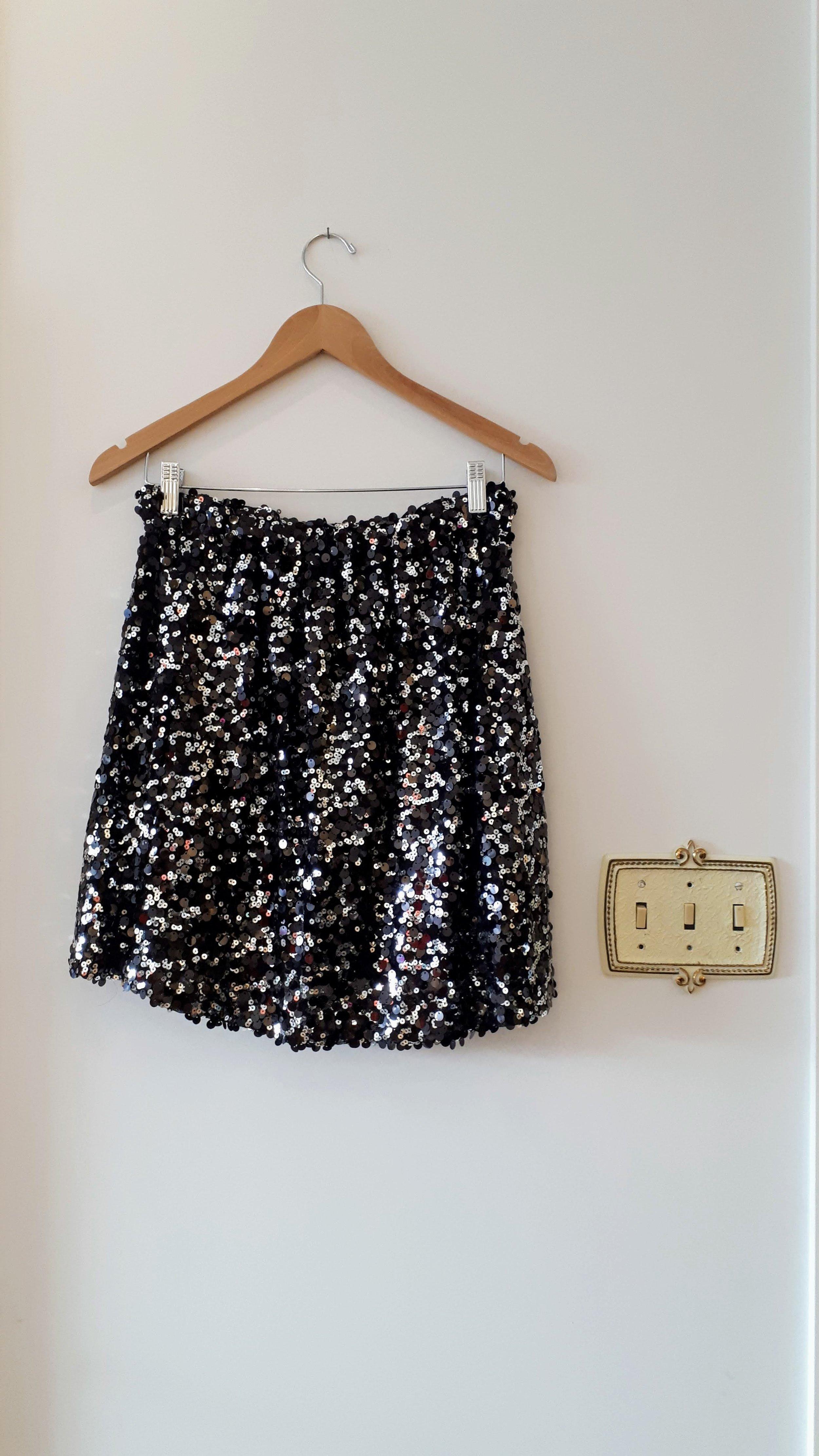 Sequin skirt; Size S, $26