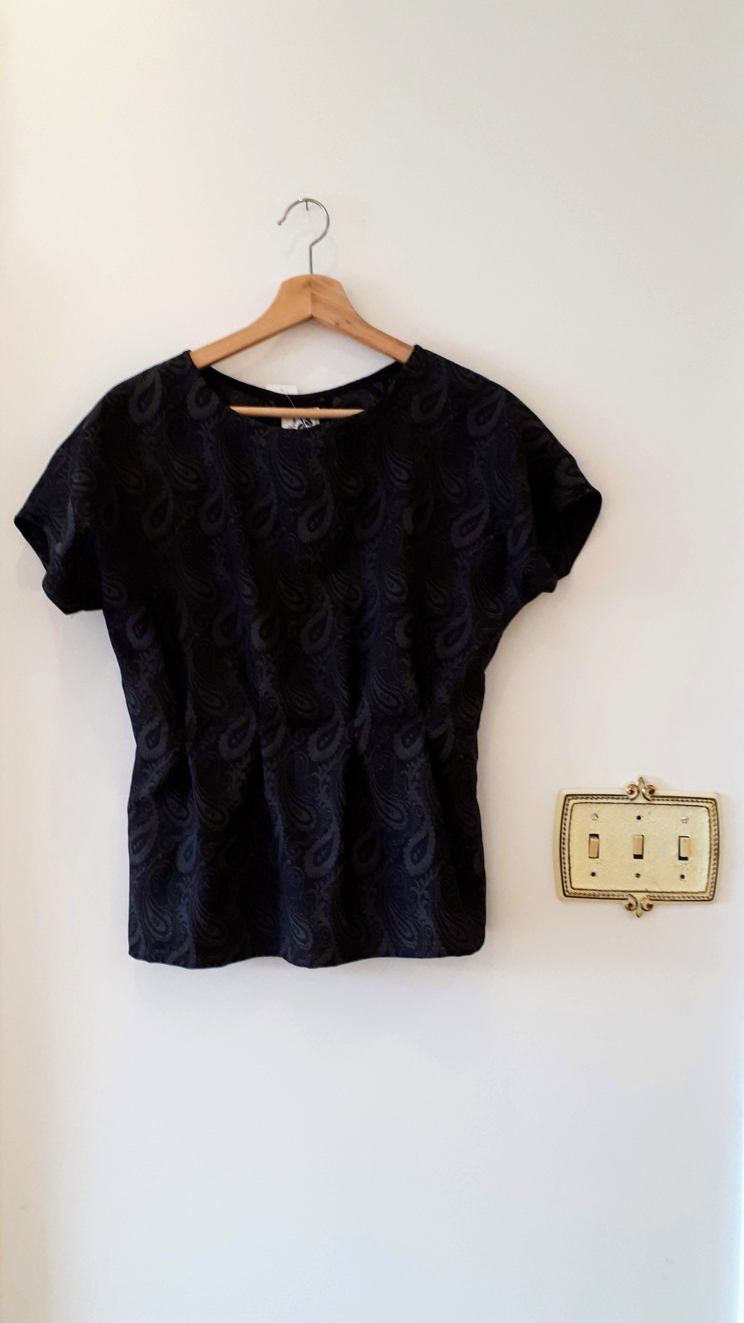 K. Brower top; Size S, $36