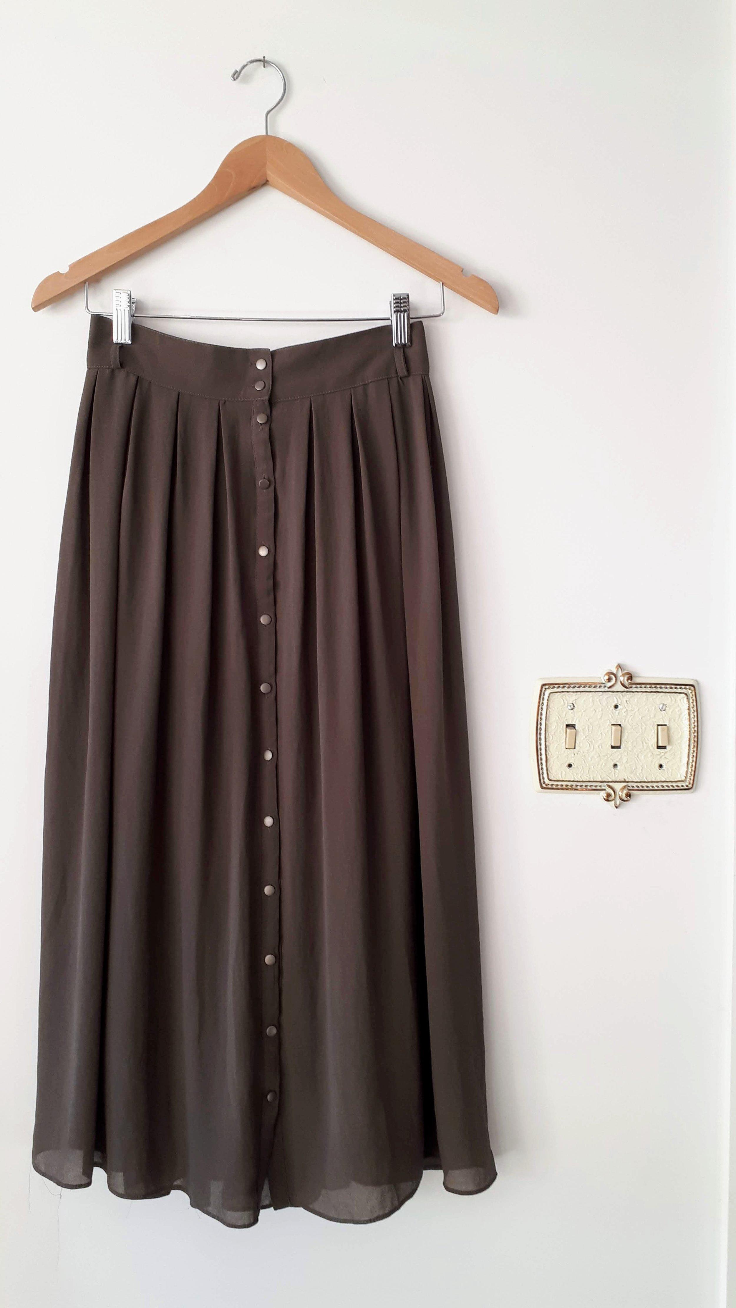 Oak+Fort skirt; Size M, $48