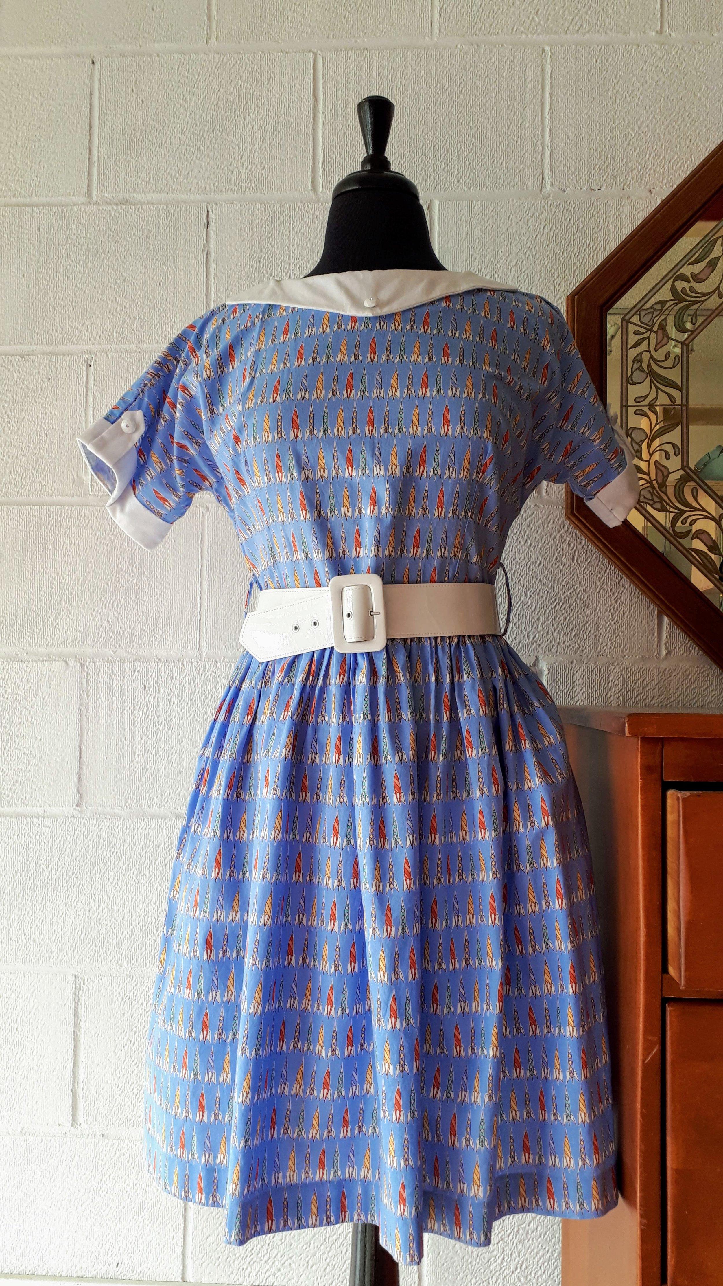 Bernie Dexter dress; Size L, $46