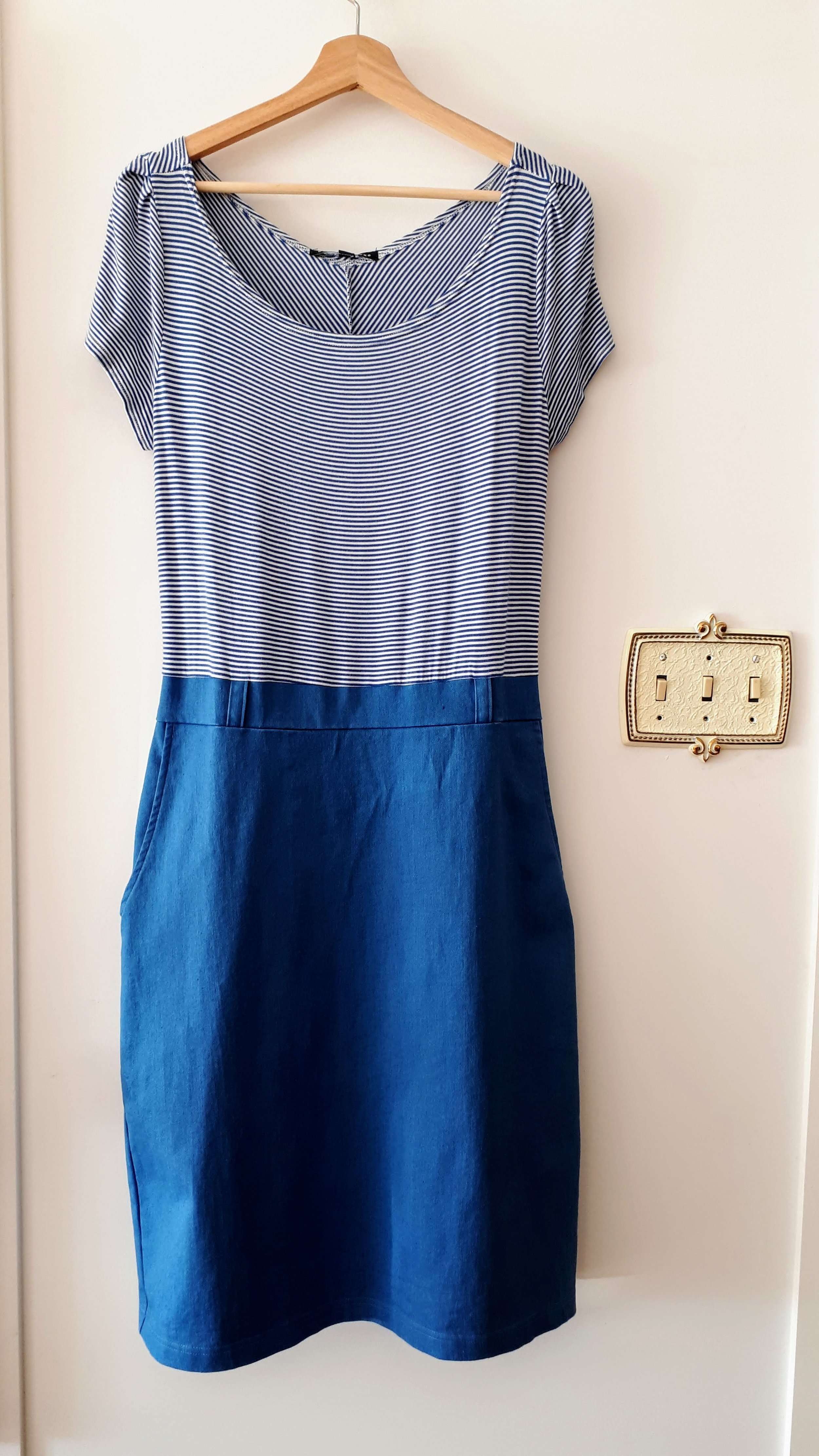 Cinder & Smoke dress; Size 12, $45