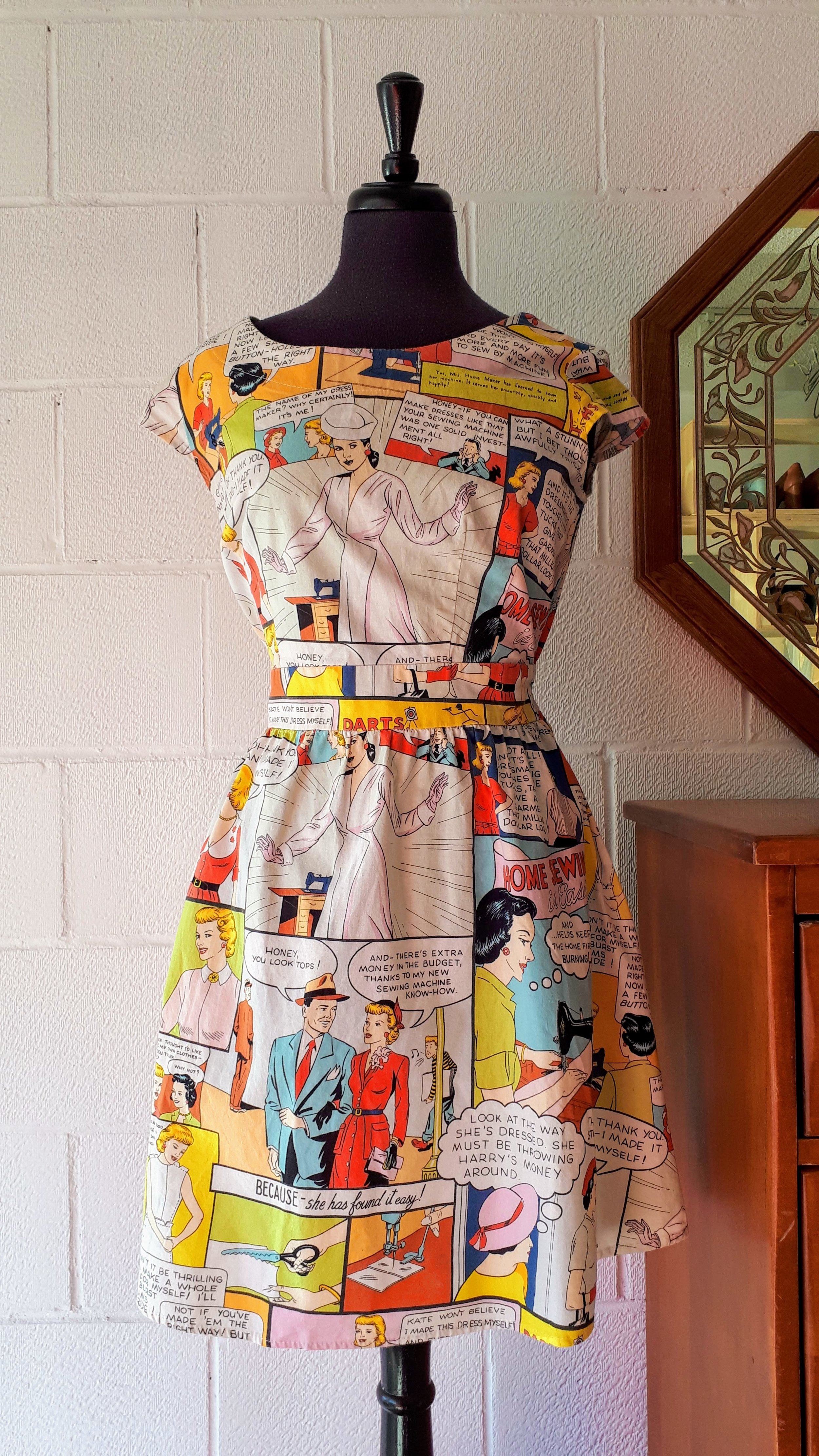 Retrolicious dress; Size M, $40