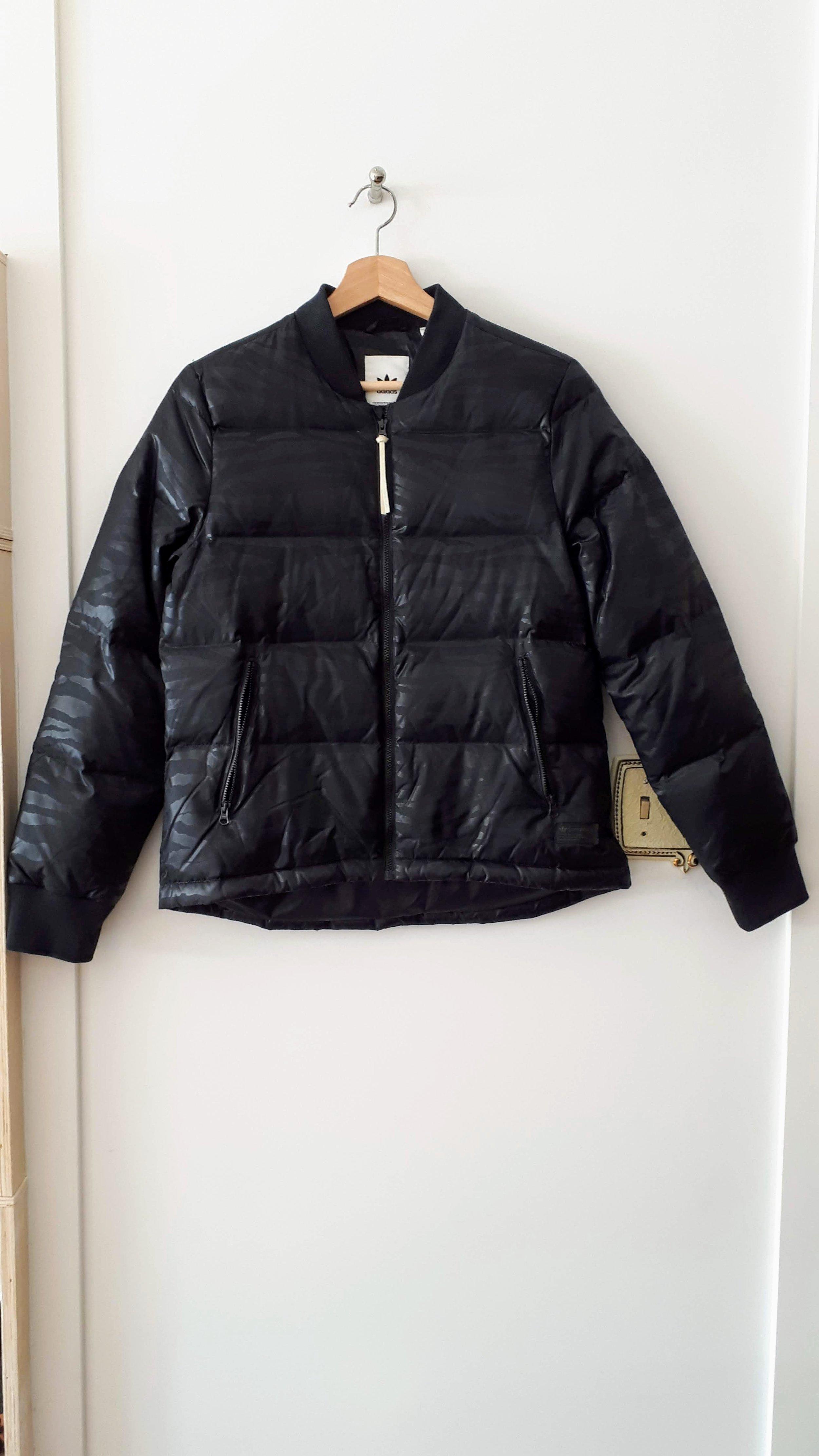 Adidas jacket; Size S, $68 (on sale: $34)