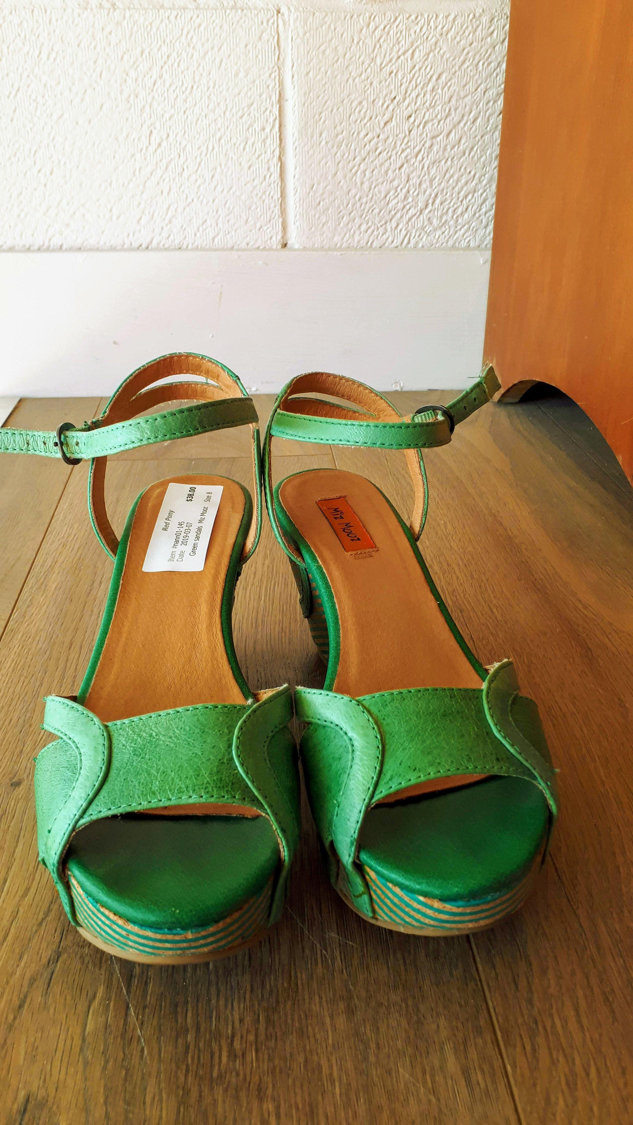 Miz Mooz shoes; S8, $38
