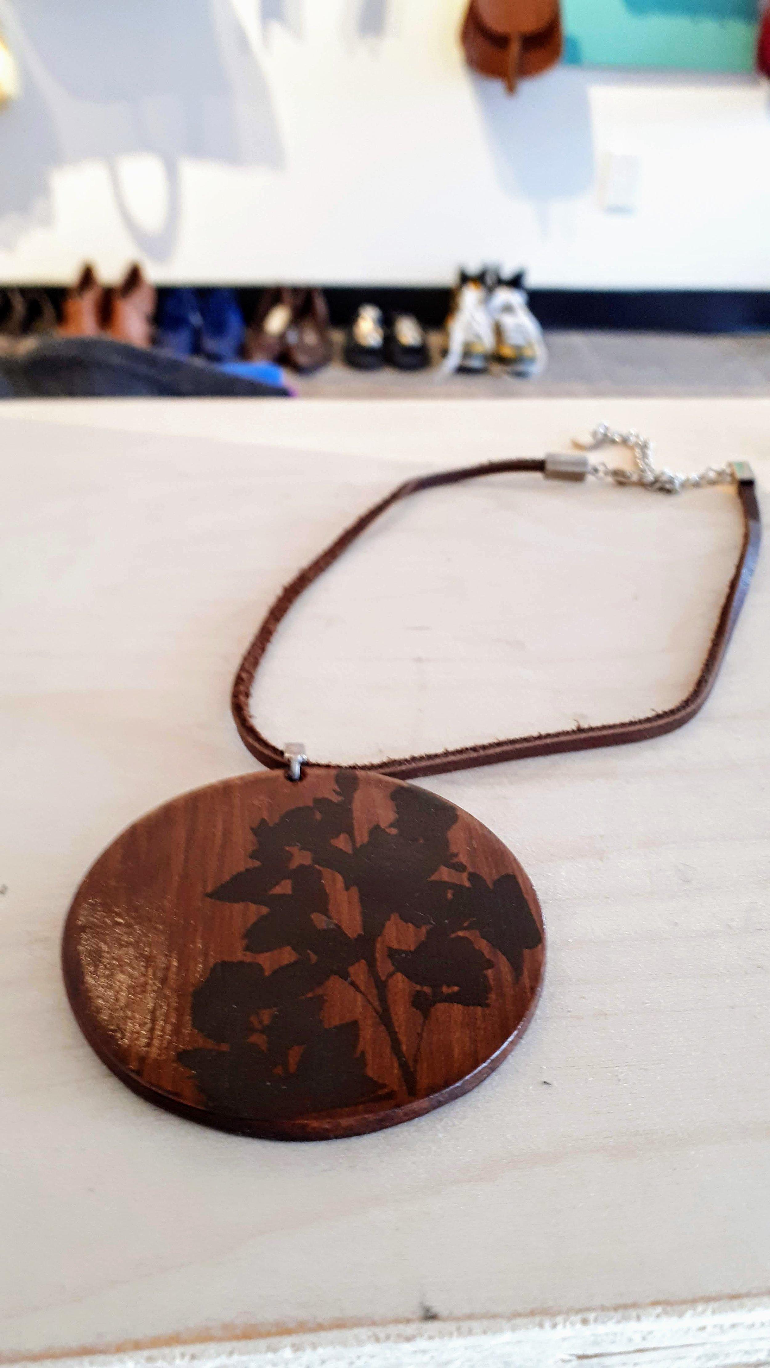 BauXo necklace. $14