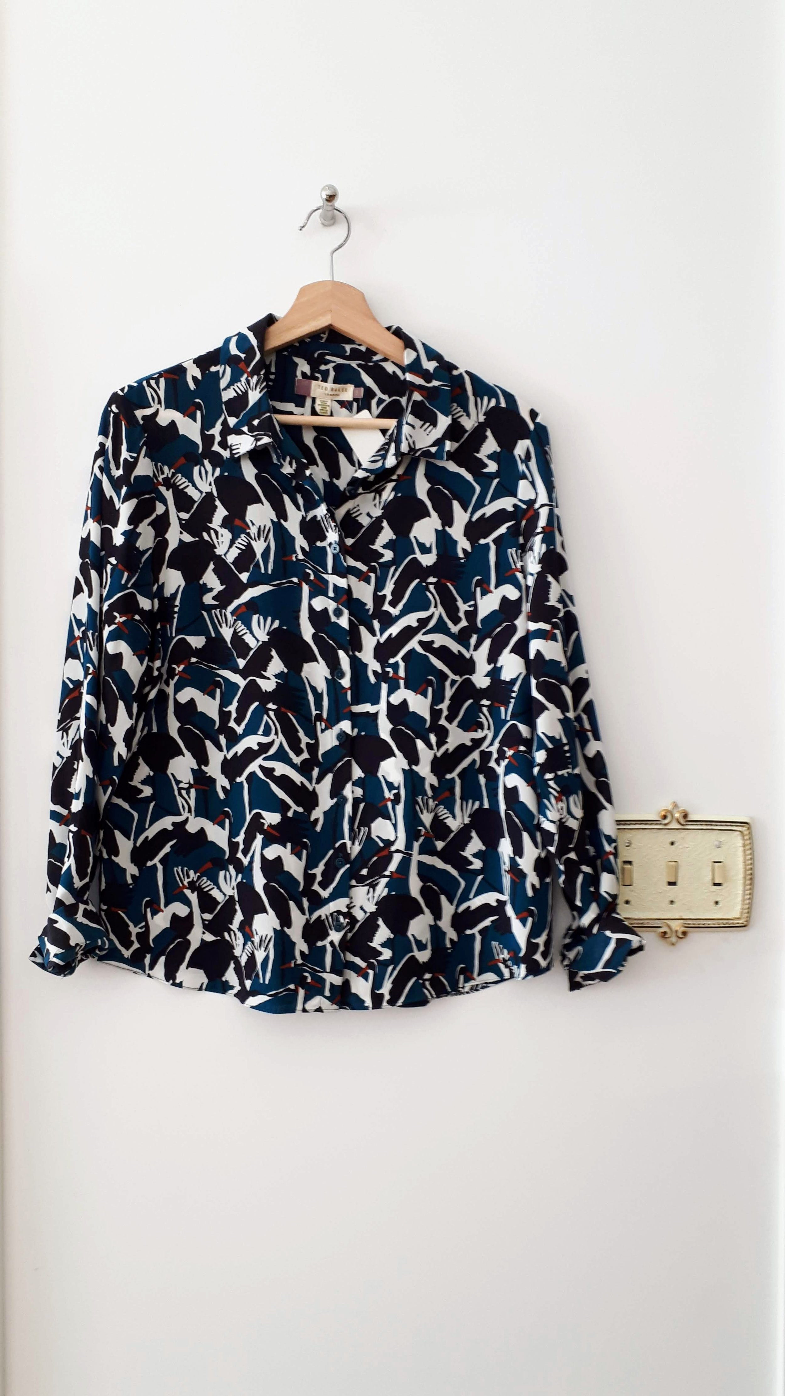 Ted Baker top; Size M, $58