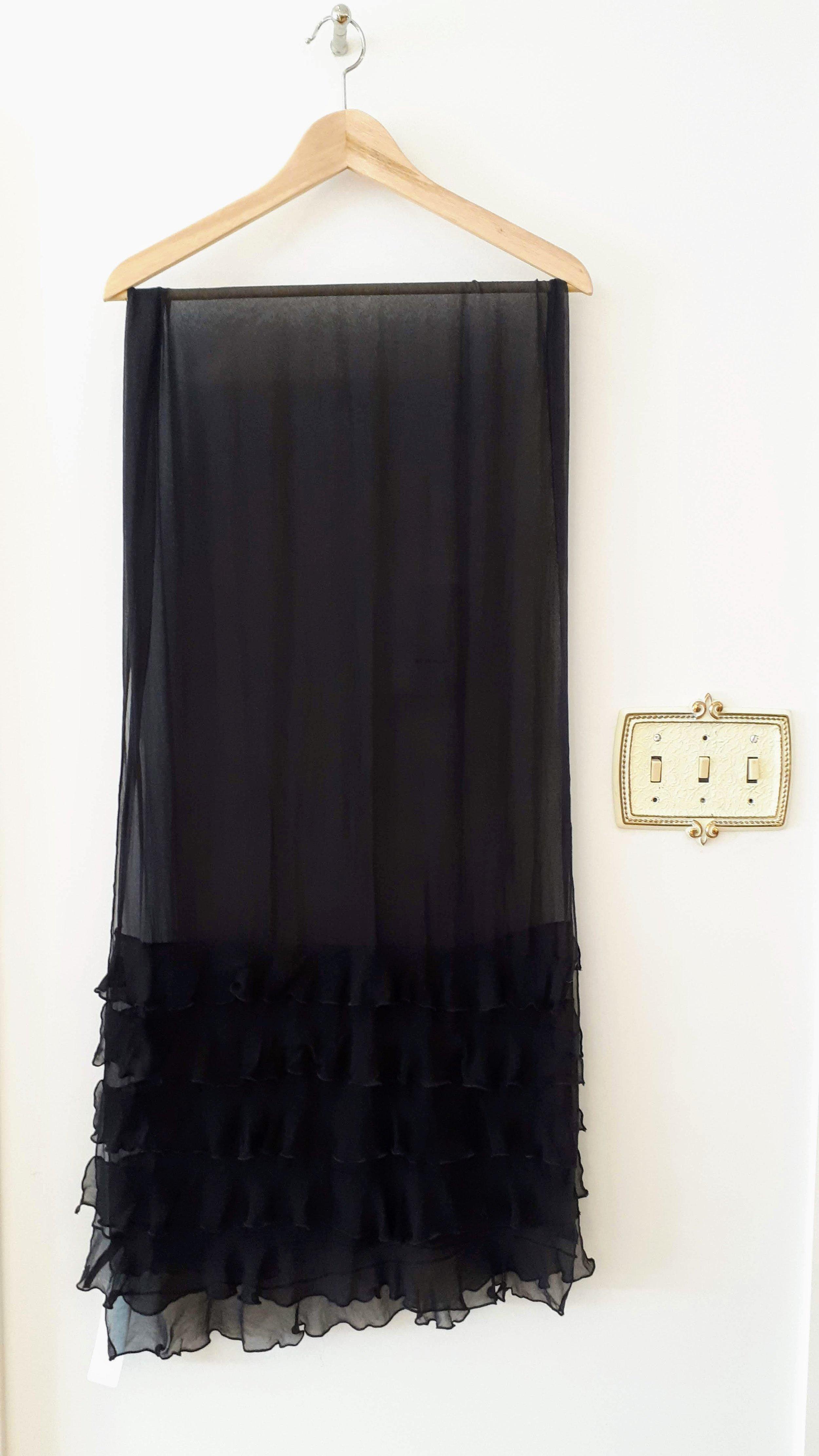 Silk scarf, $24