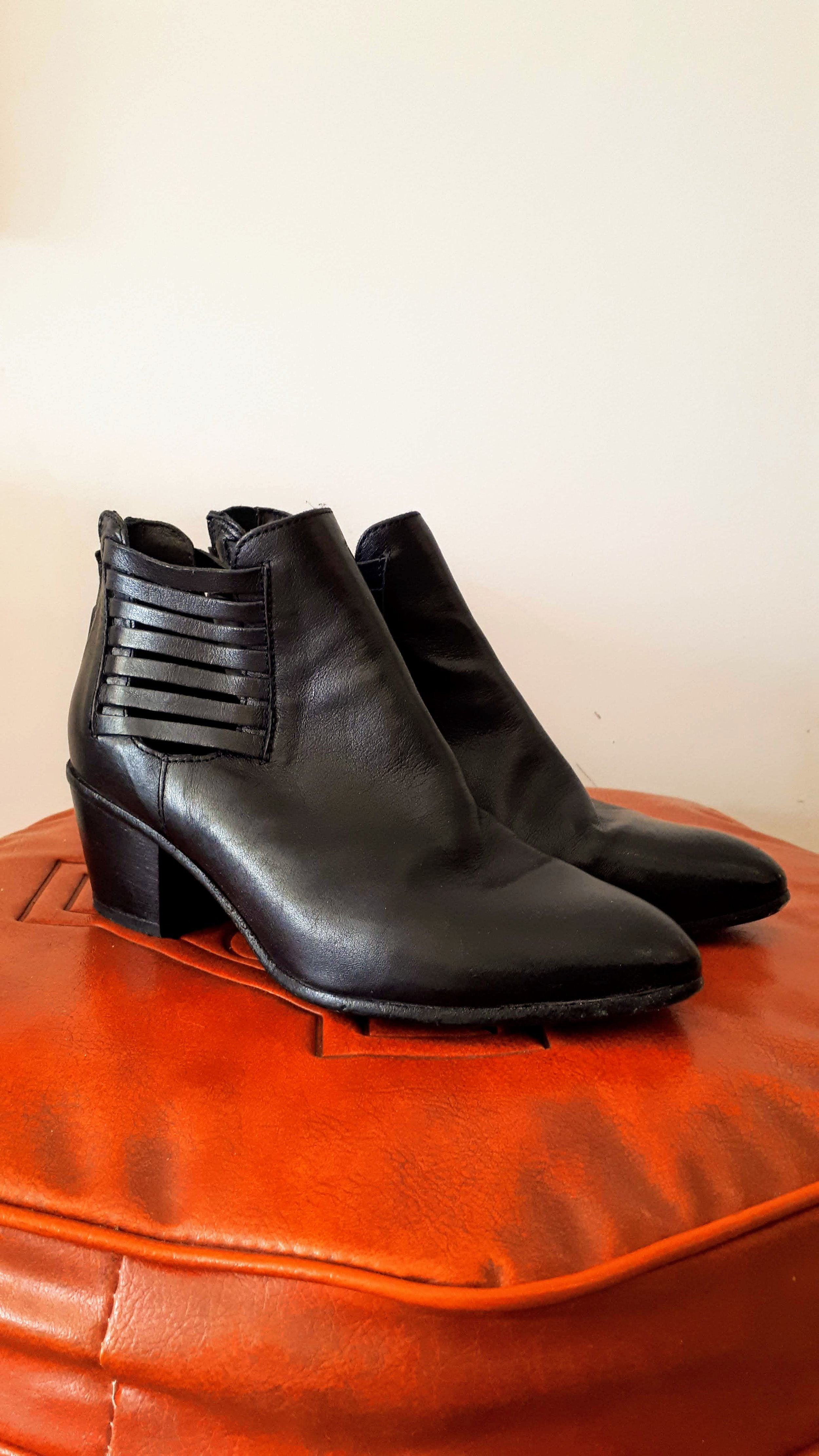 MOMA booties; Size 8.5, $46