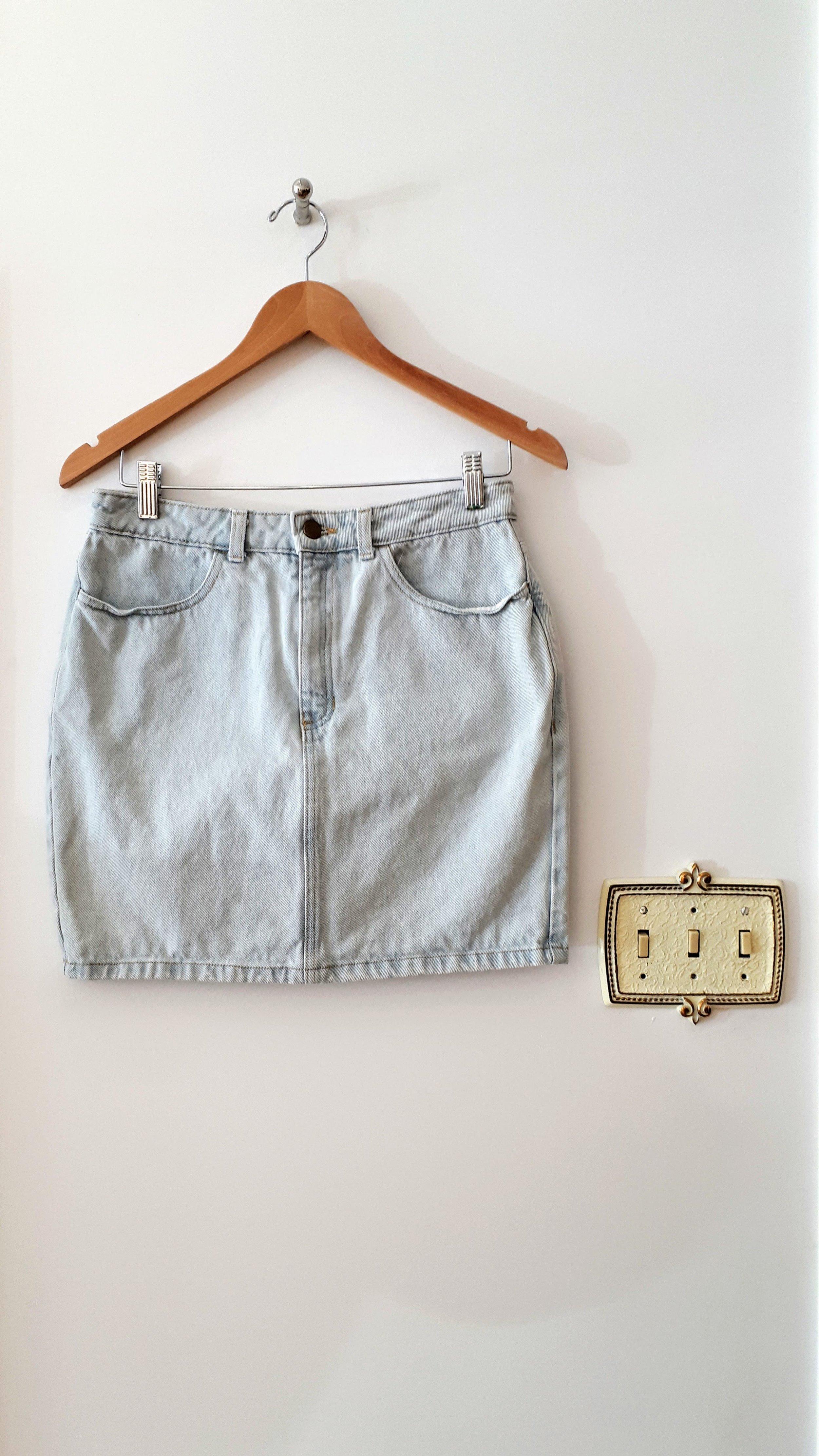 American Apparel skirt; Size M, $20