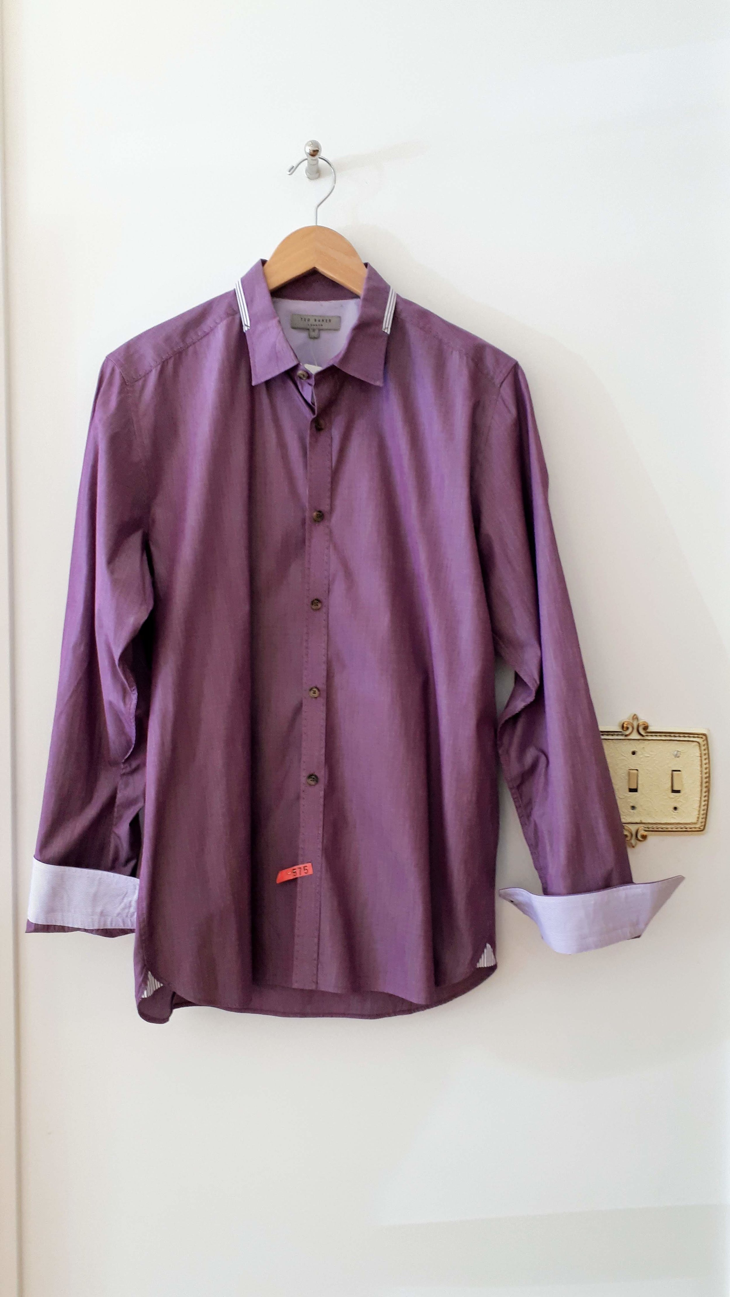 Ted Baker shirt; Size M, $48