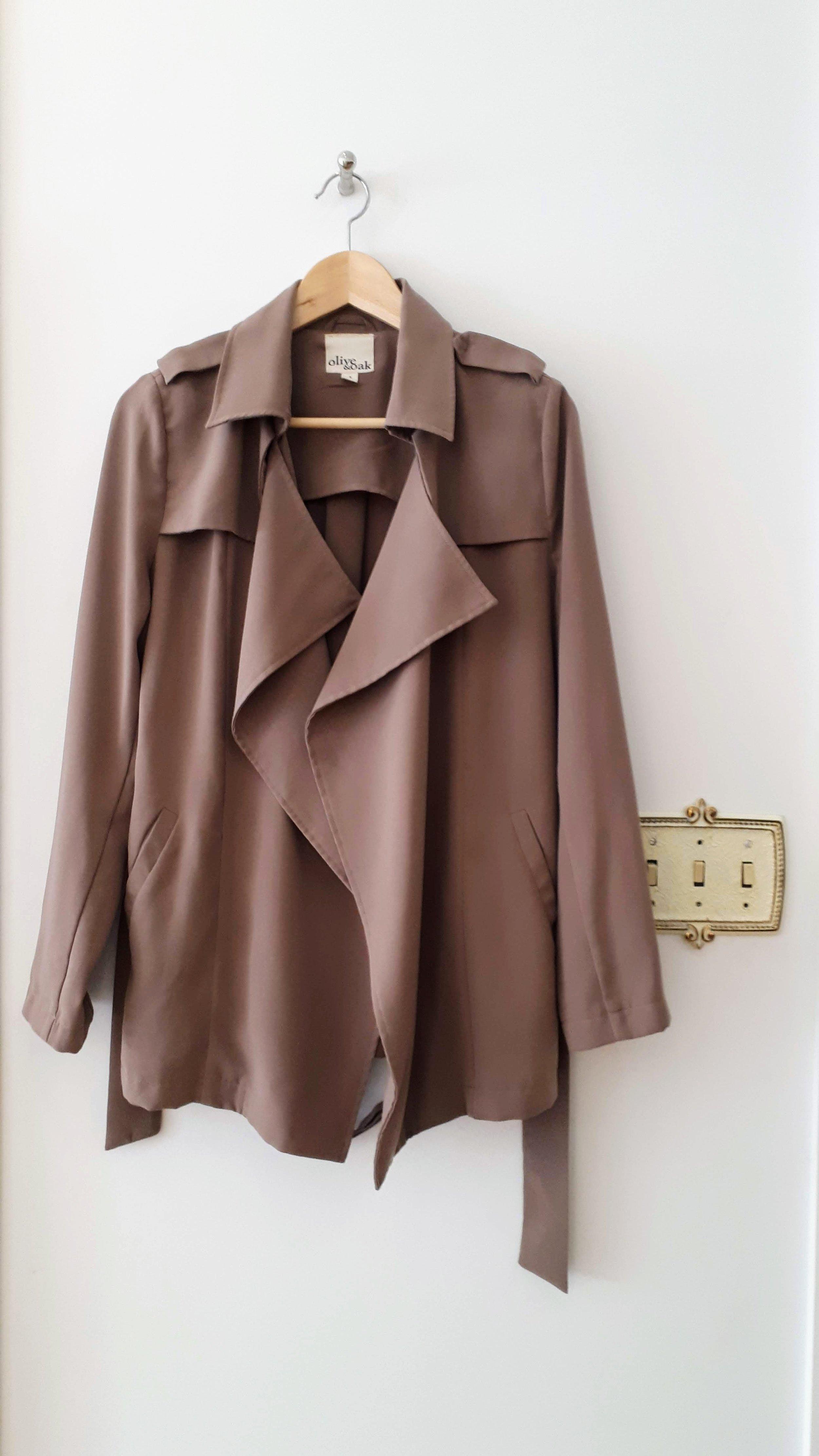 Olive & Oak jacket; Size S, $52