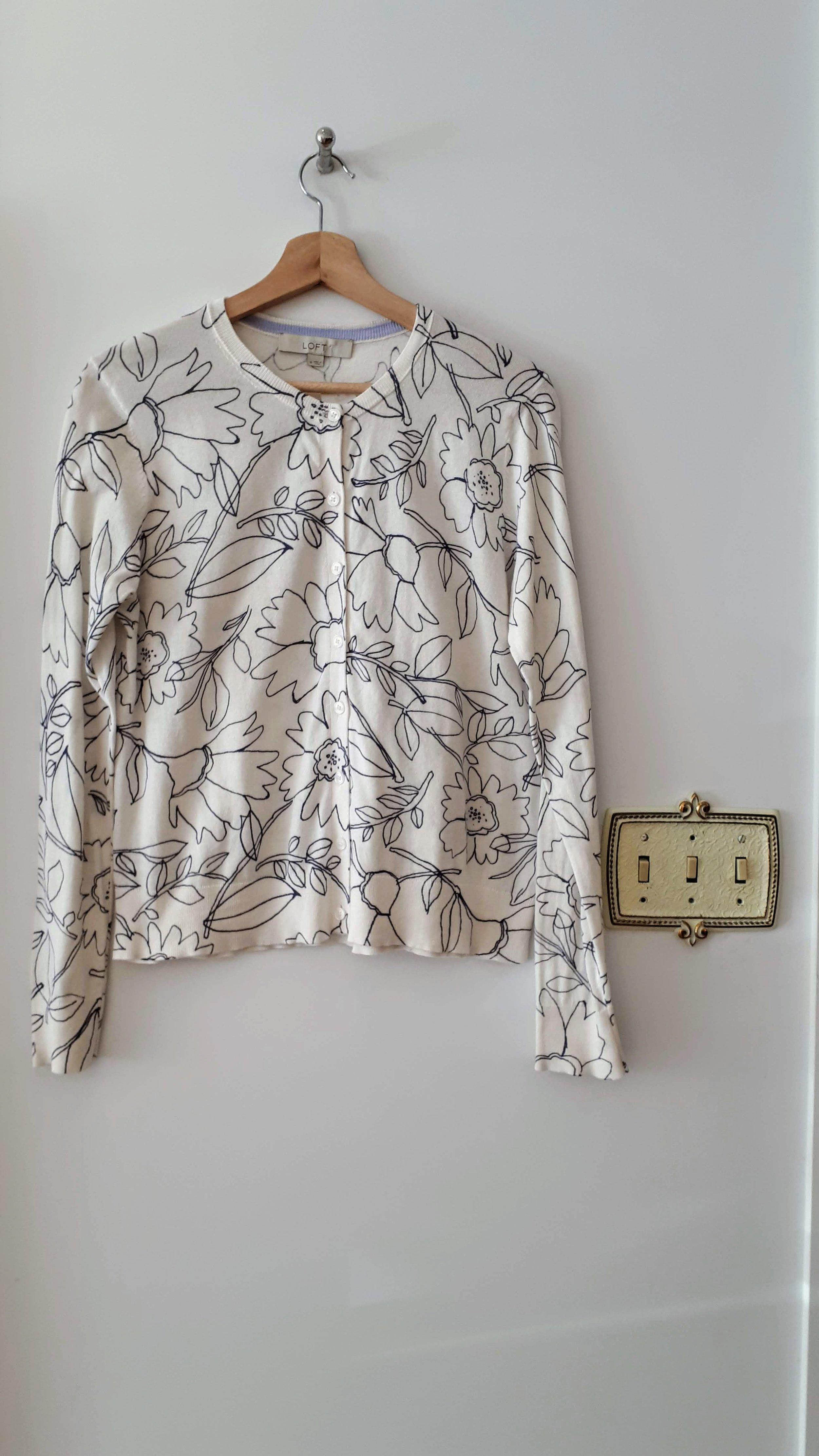 Ann Taylor cardigan; Size M, $22