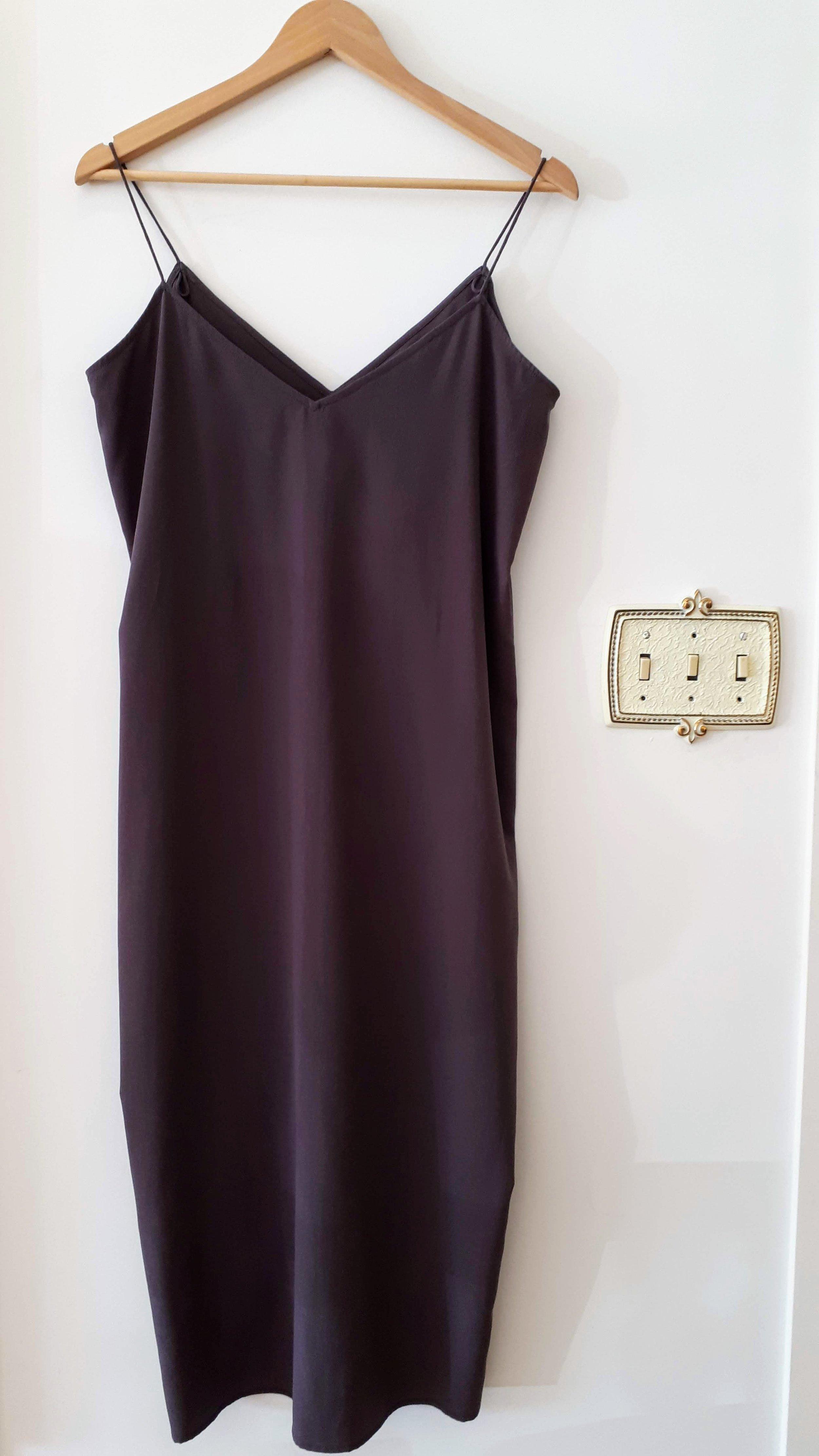 Oak + Fort dress; Size L, $40