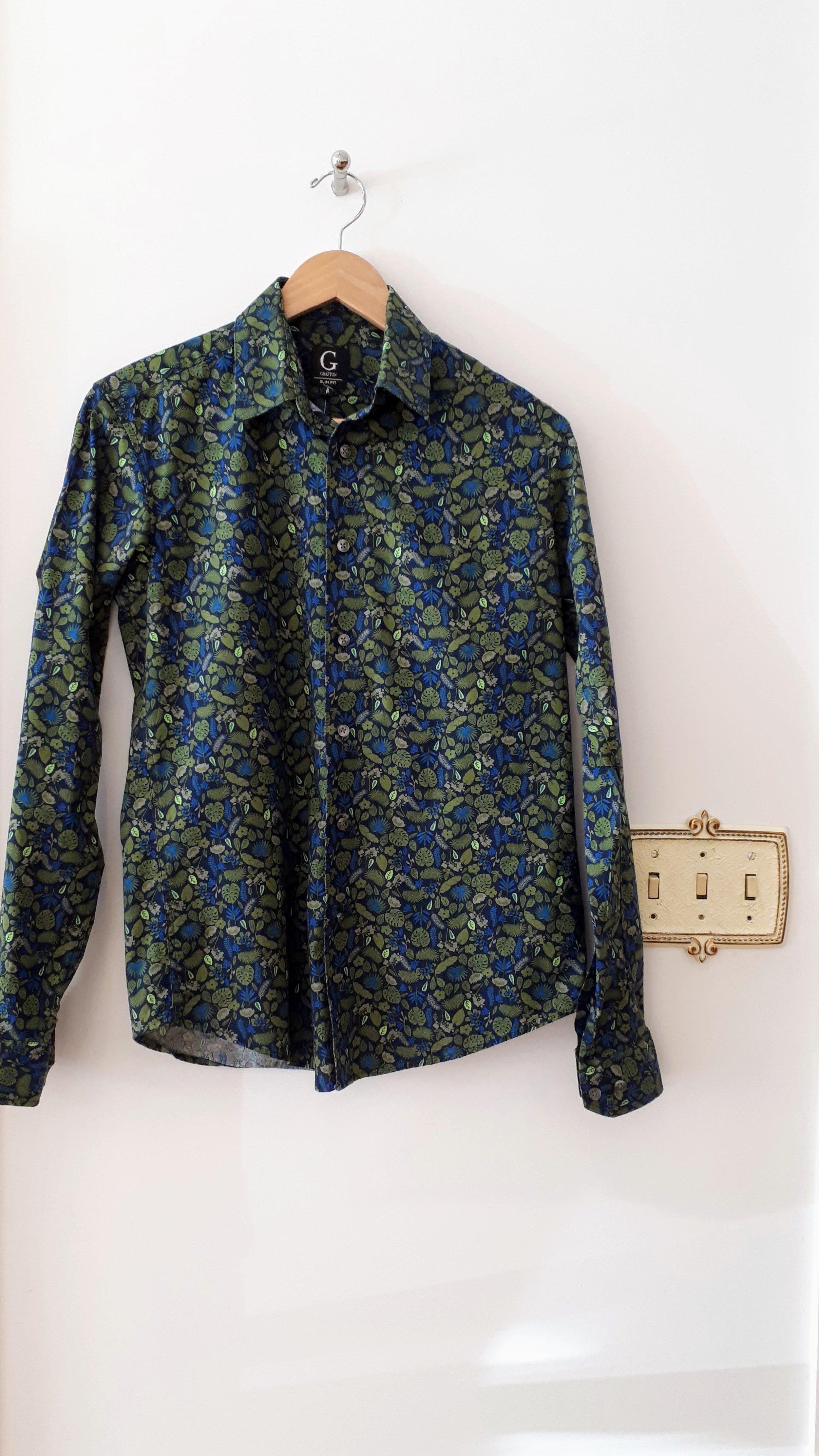Grafton shirt; Size S, $24