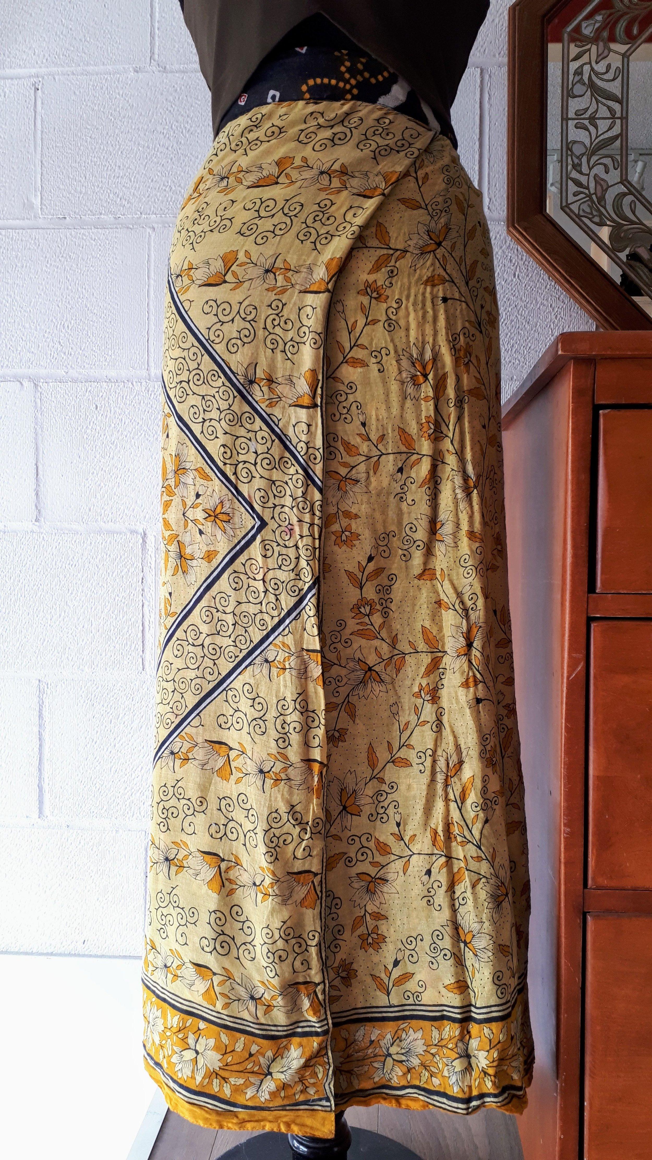 Wrap skirt; Size everyone, $20