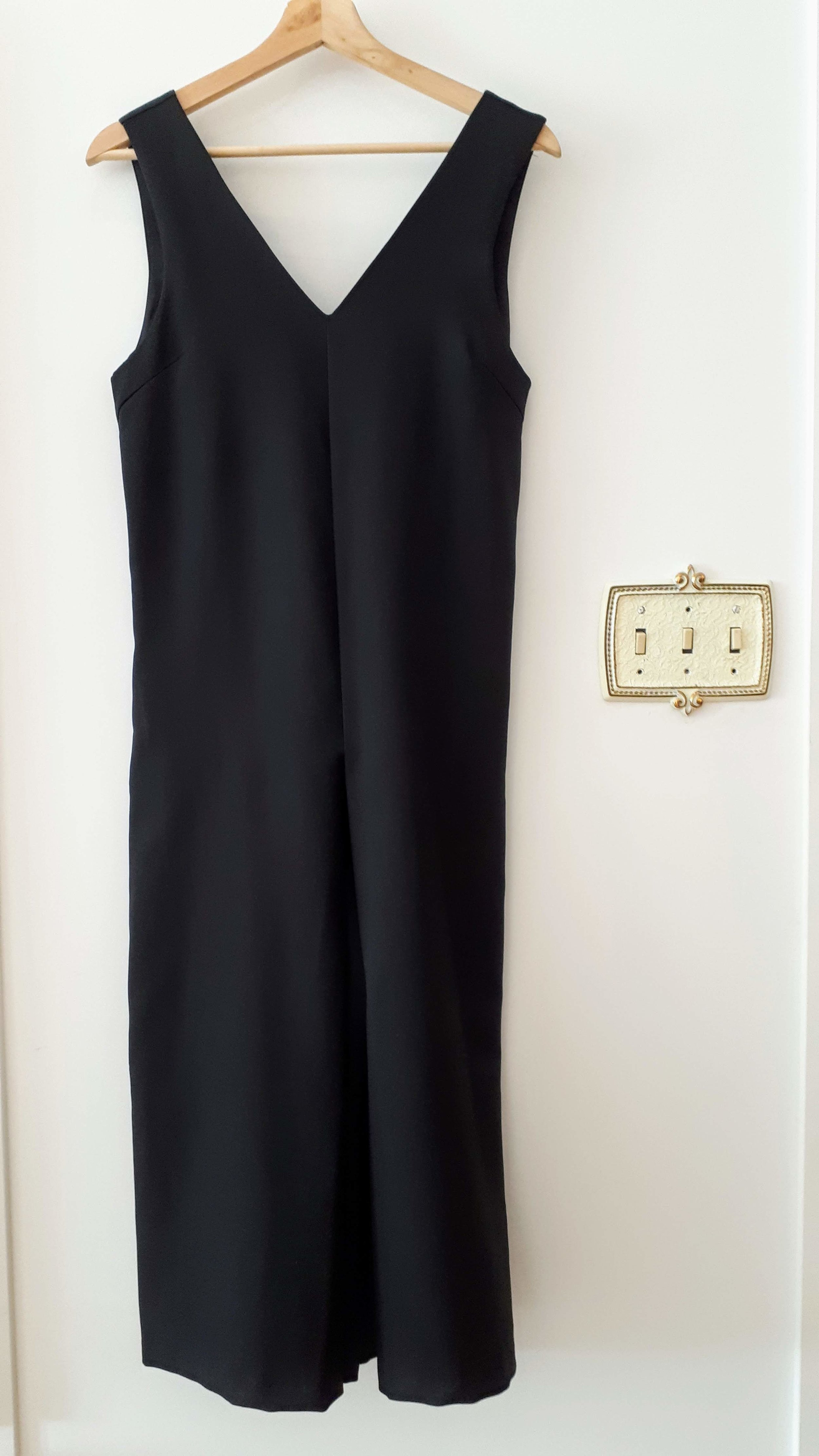 Oak+Fort jumpsuit; Size OS (hehehehehe, snort, sniff!), $46