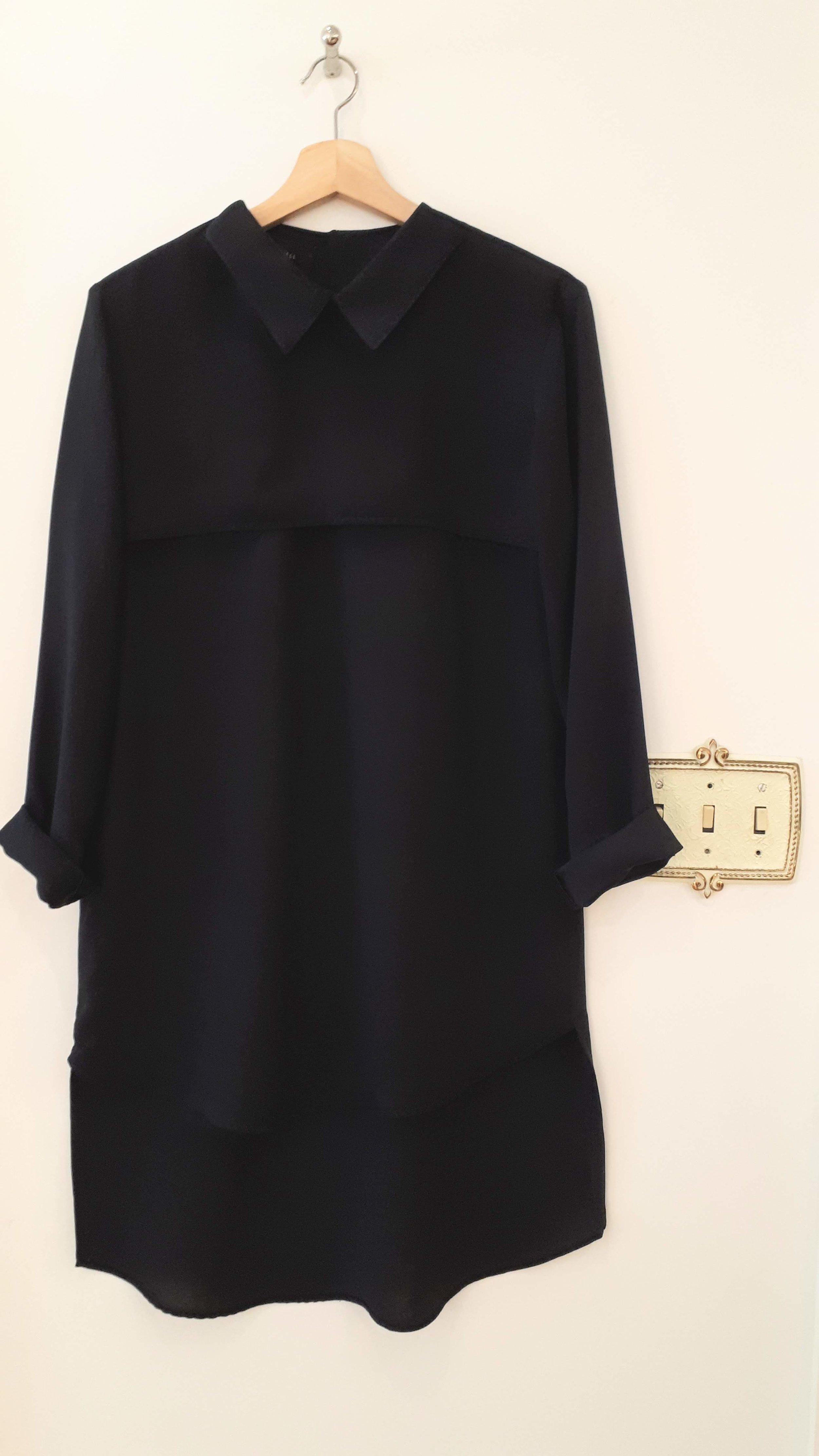 Workhall dress; Size L, $48