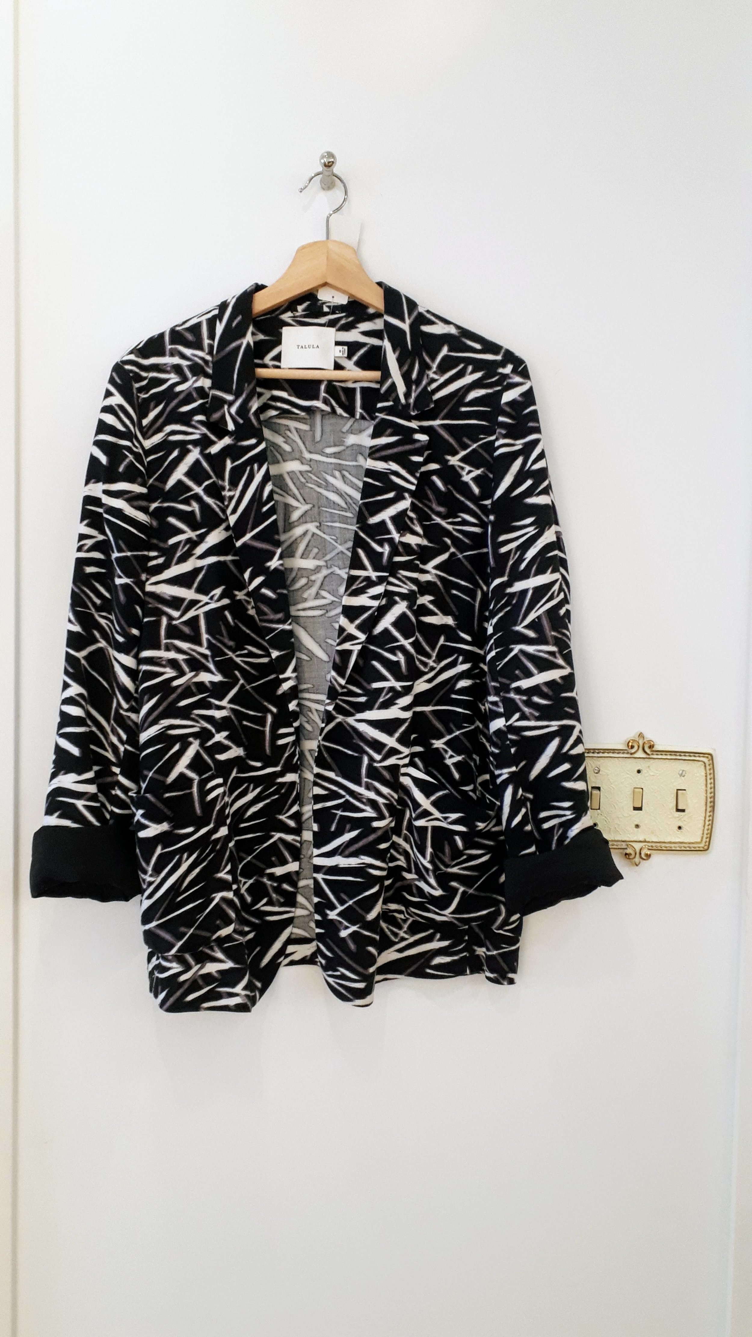 Talula blazer; Size 10, $38