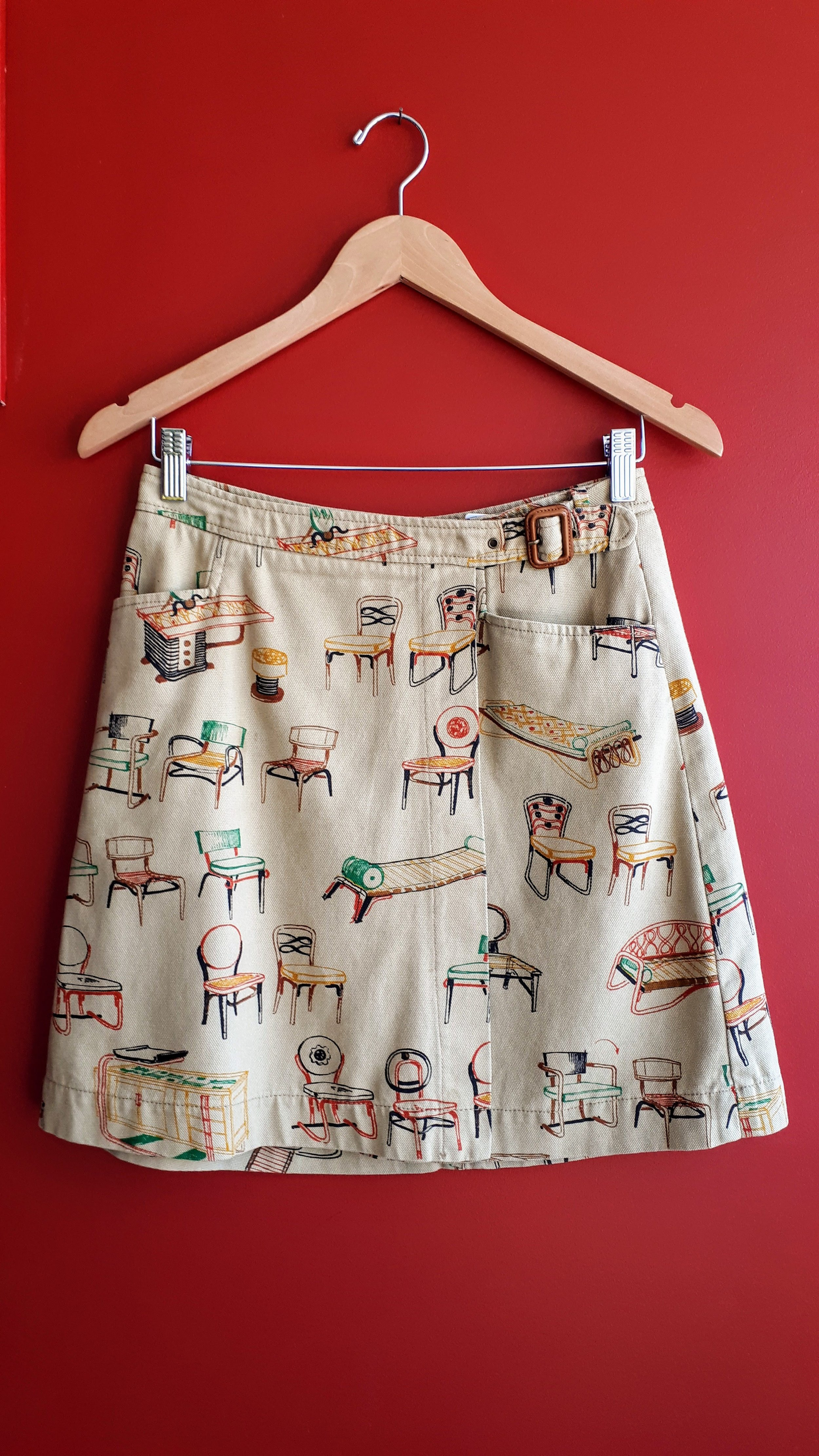9-H15 StCL skirt; Size 4, $28