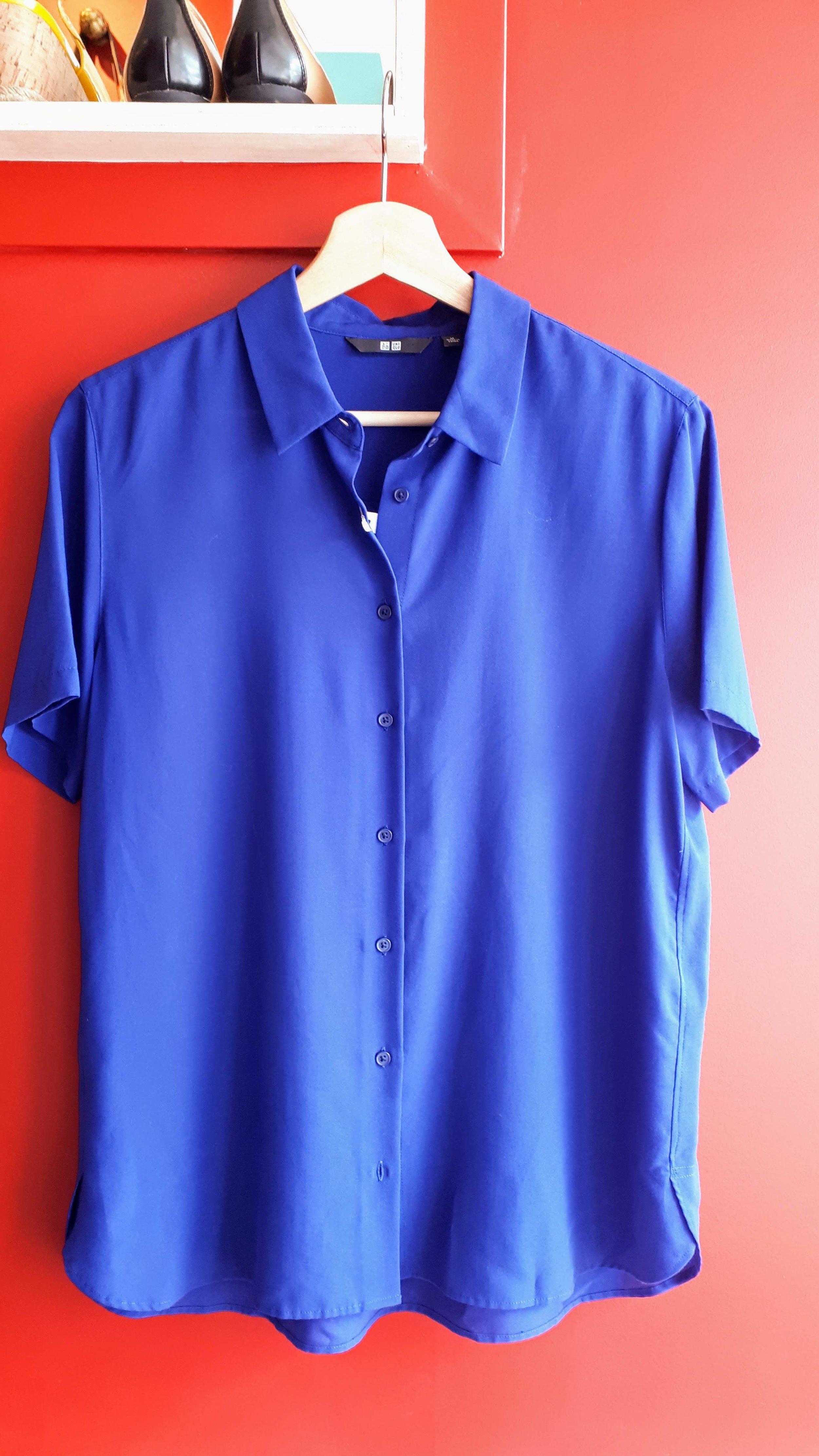 Uniqlo top (NWT); Size M, $22