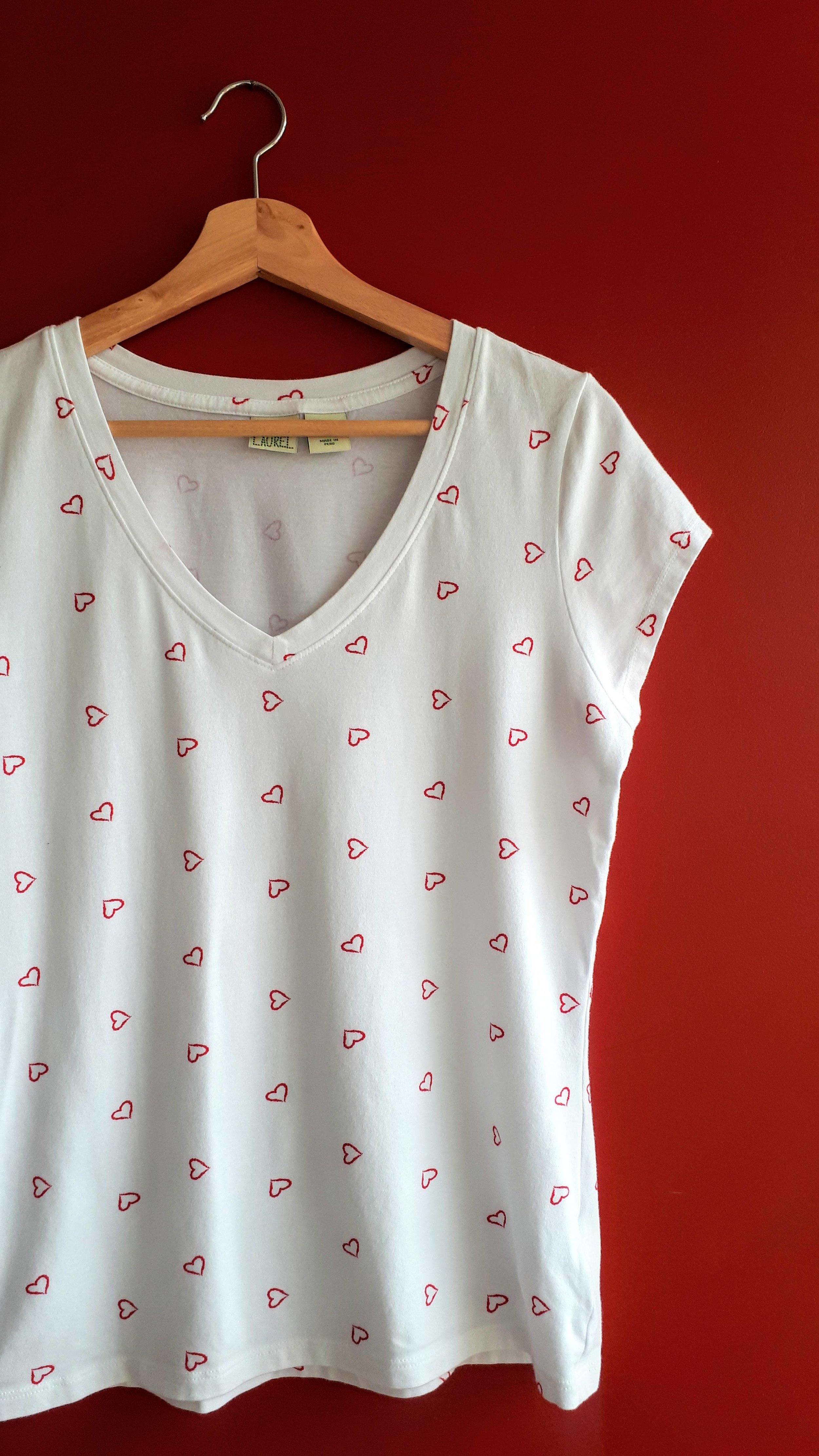 Lucy & Laurel shirt; Size M, $18