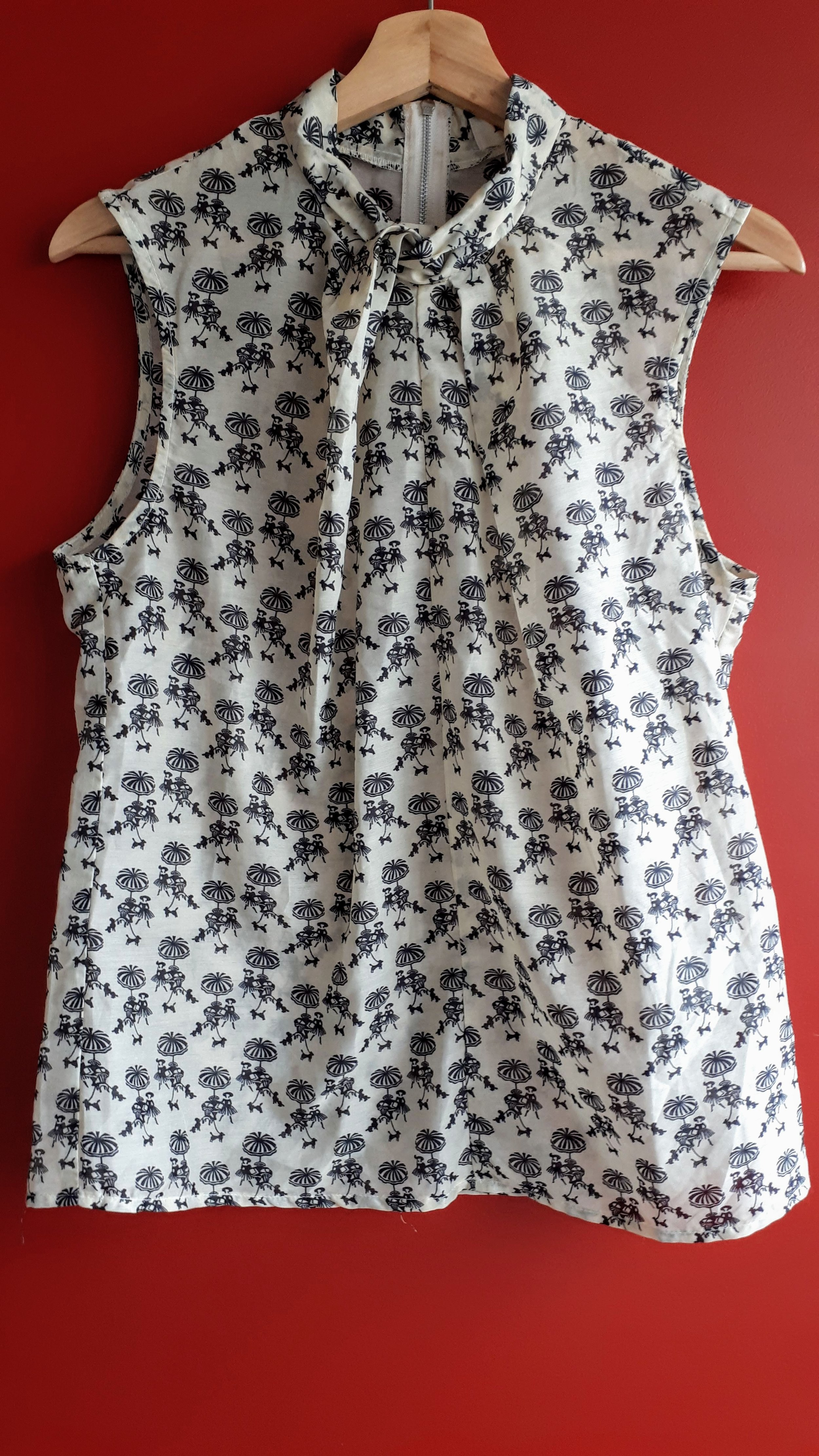 Louche top; Size S, $18