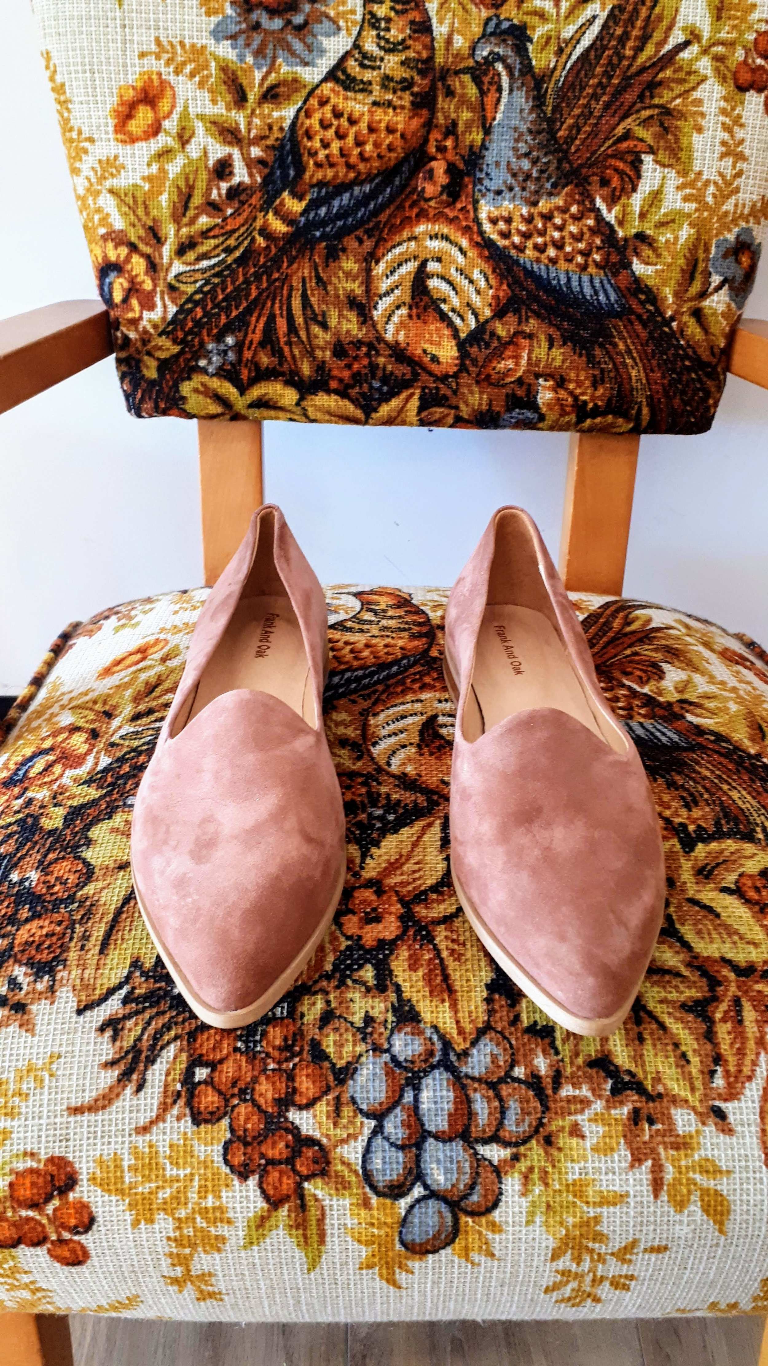 Frank and Oak shoes; S9, $46