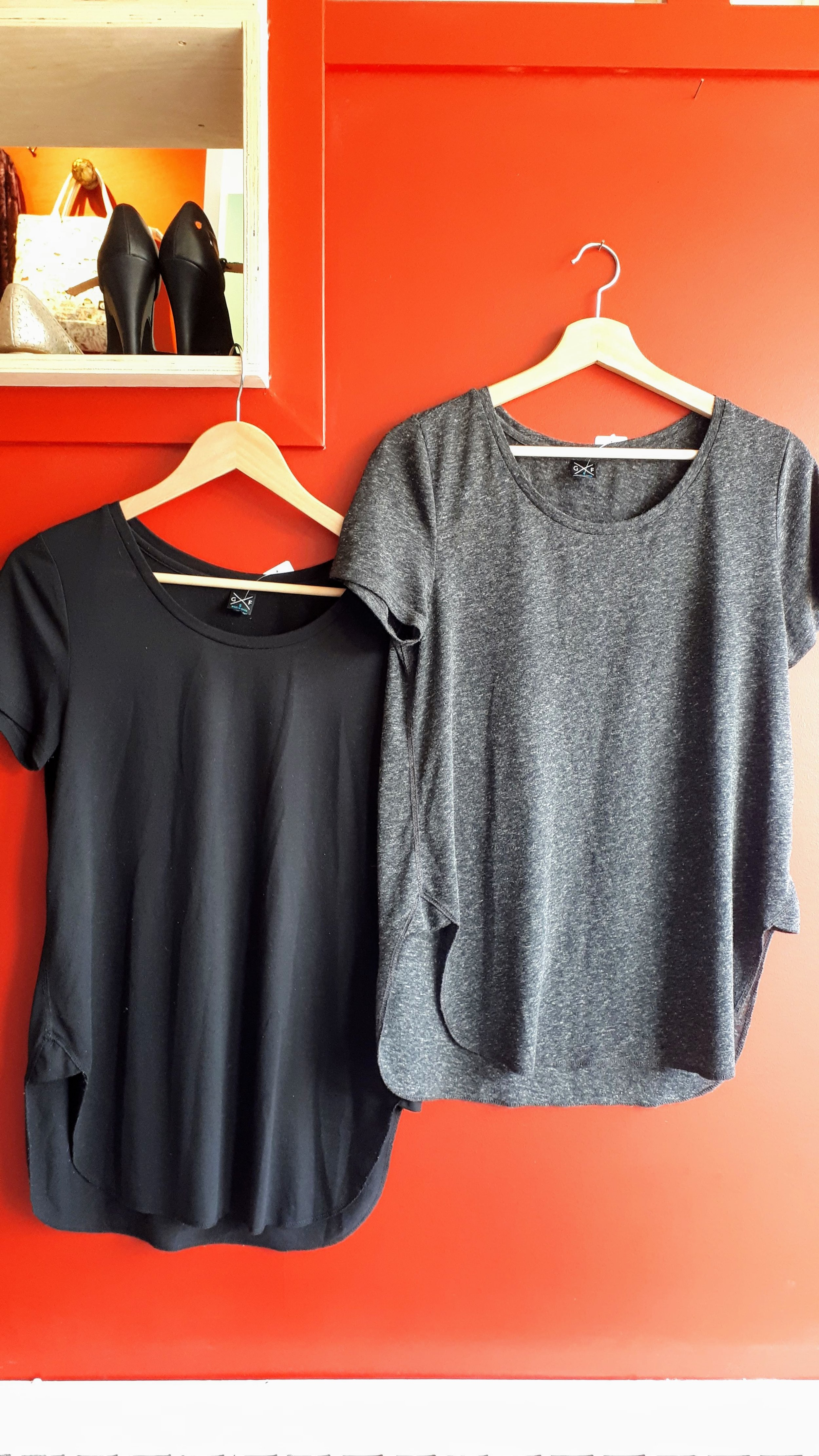 Gentle Fawn tops; Size S, $18 (each)