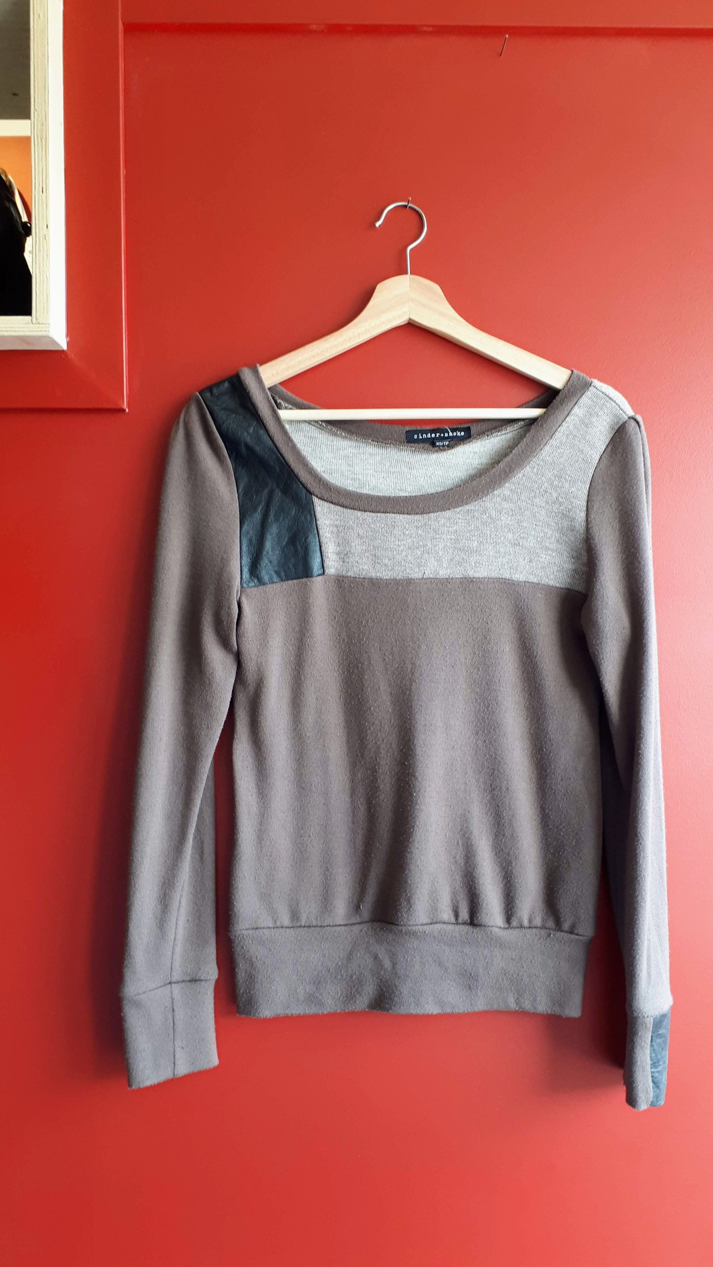 Cinder+Smoke top; Size S, $24 (on sale for $12!)