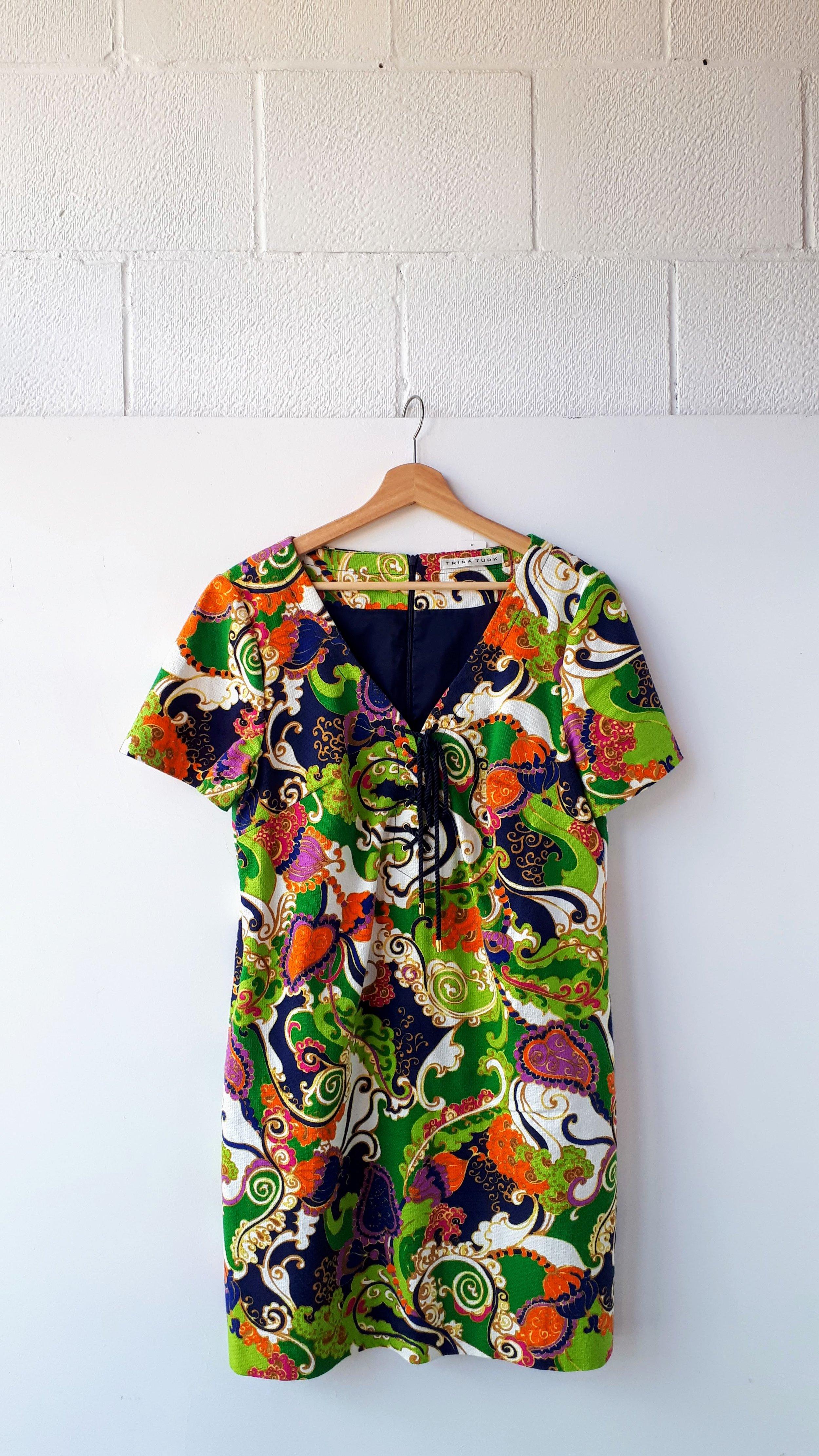 Trina Turk dress; Size M, $52
