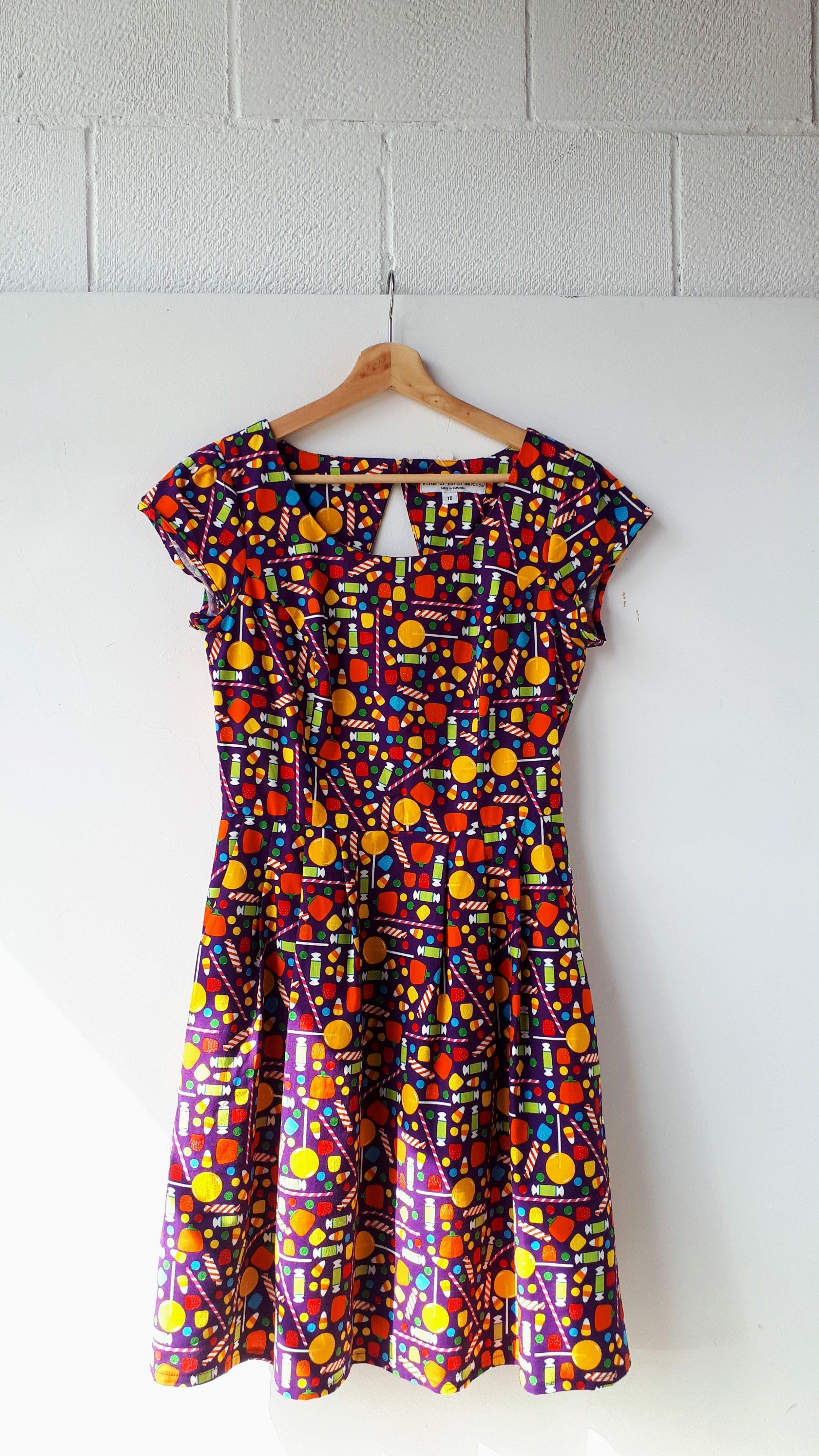 Birds of North America dress; Size 10, $42