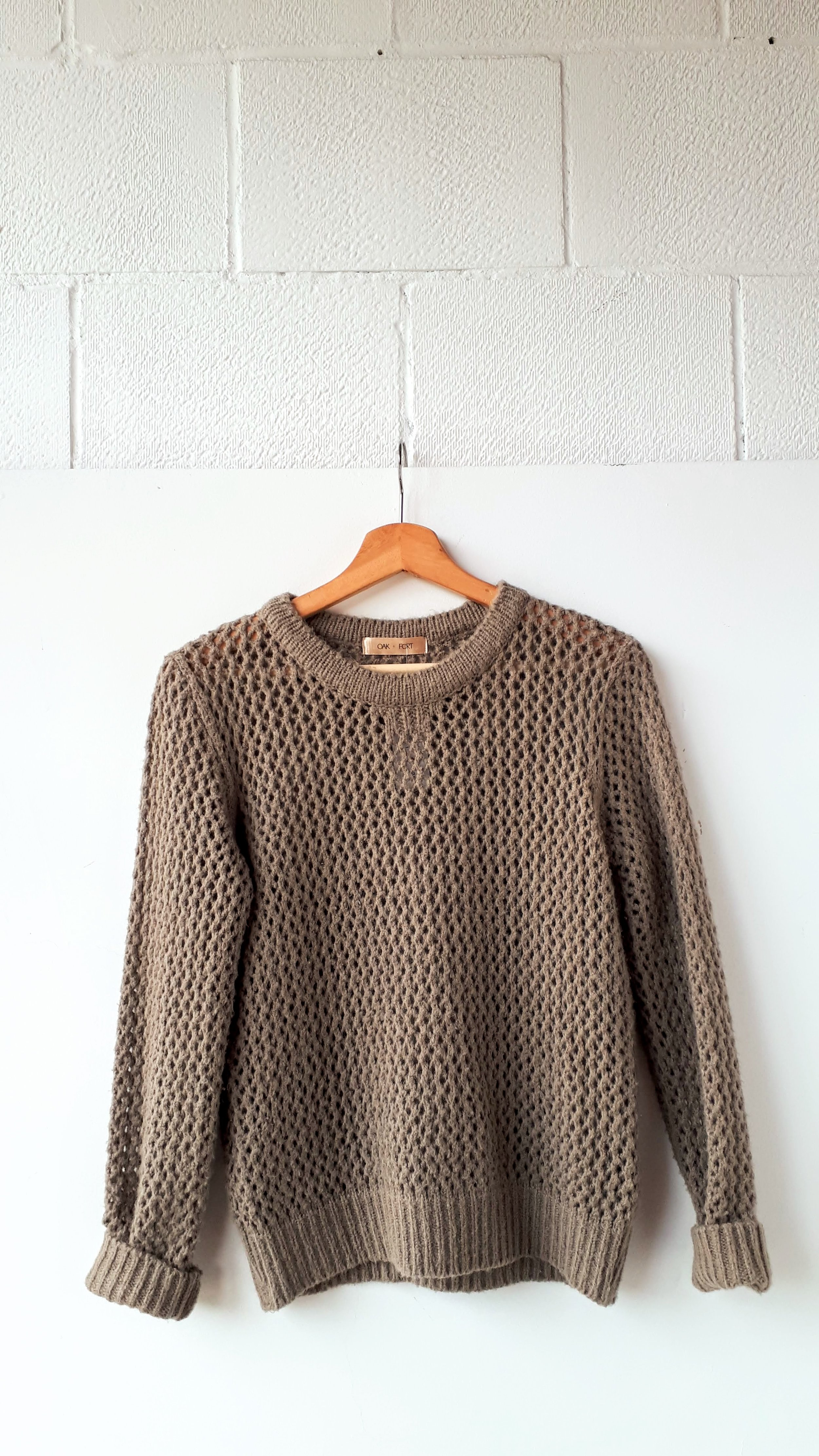 Oak + Fort; Size S, $30 (on sale for $15)