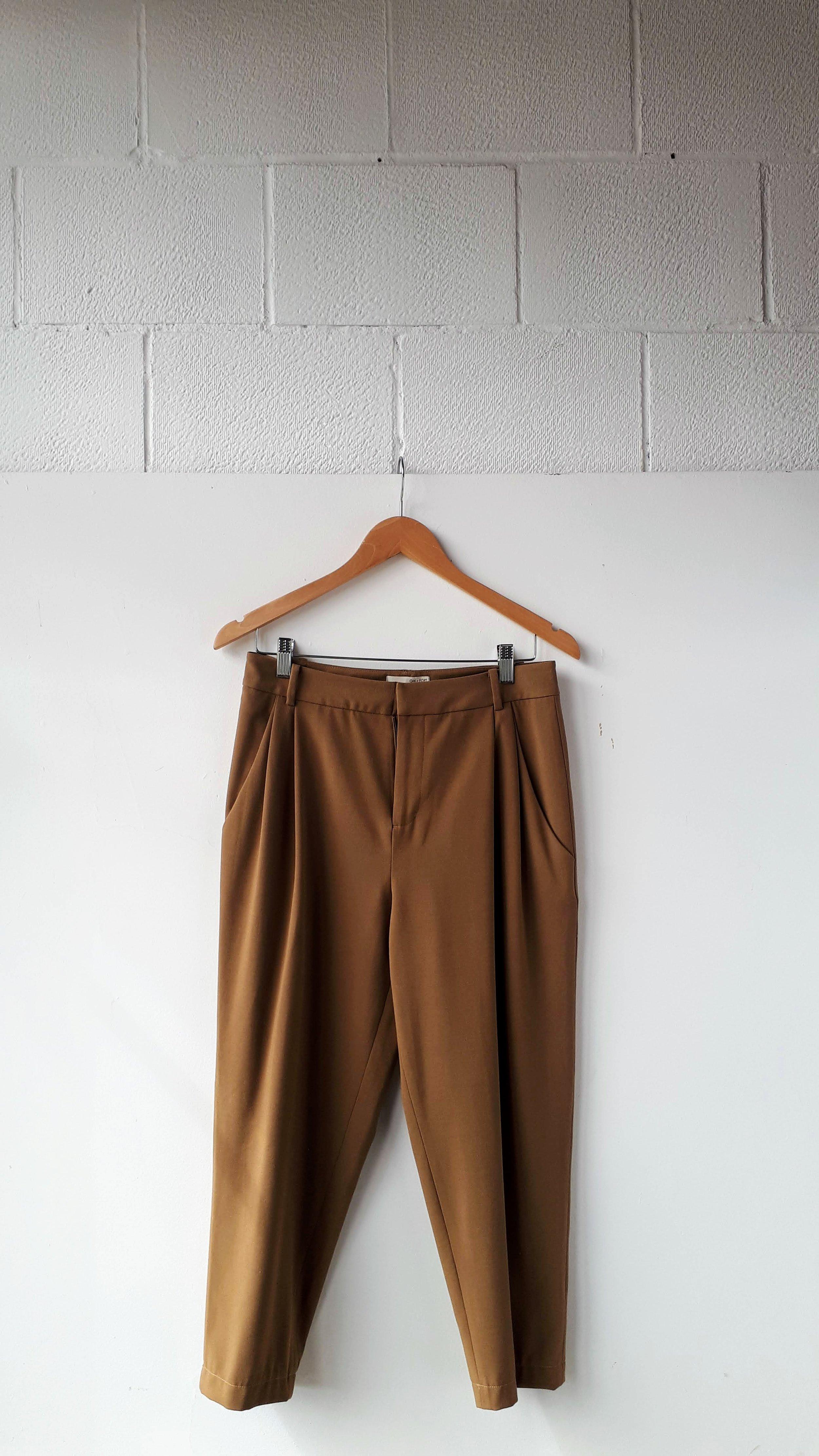 Oak + Fort pants; Size S. $38