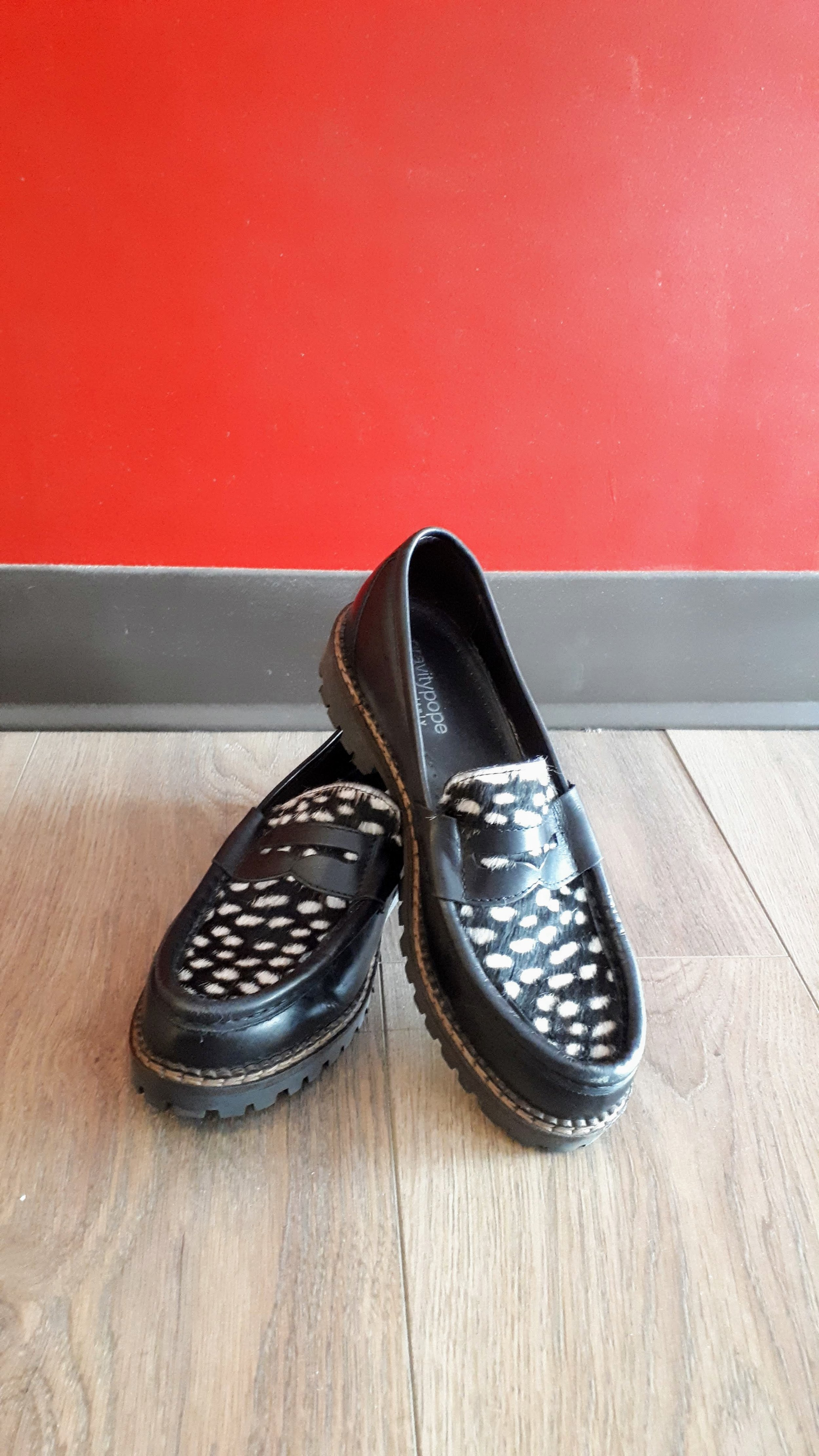 Gravity Pope shoes; Size 8, $52