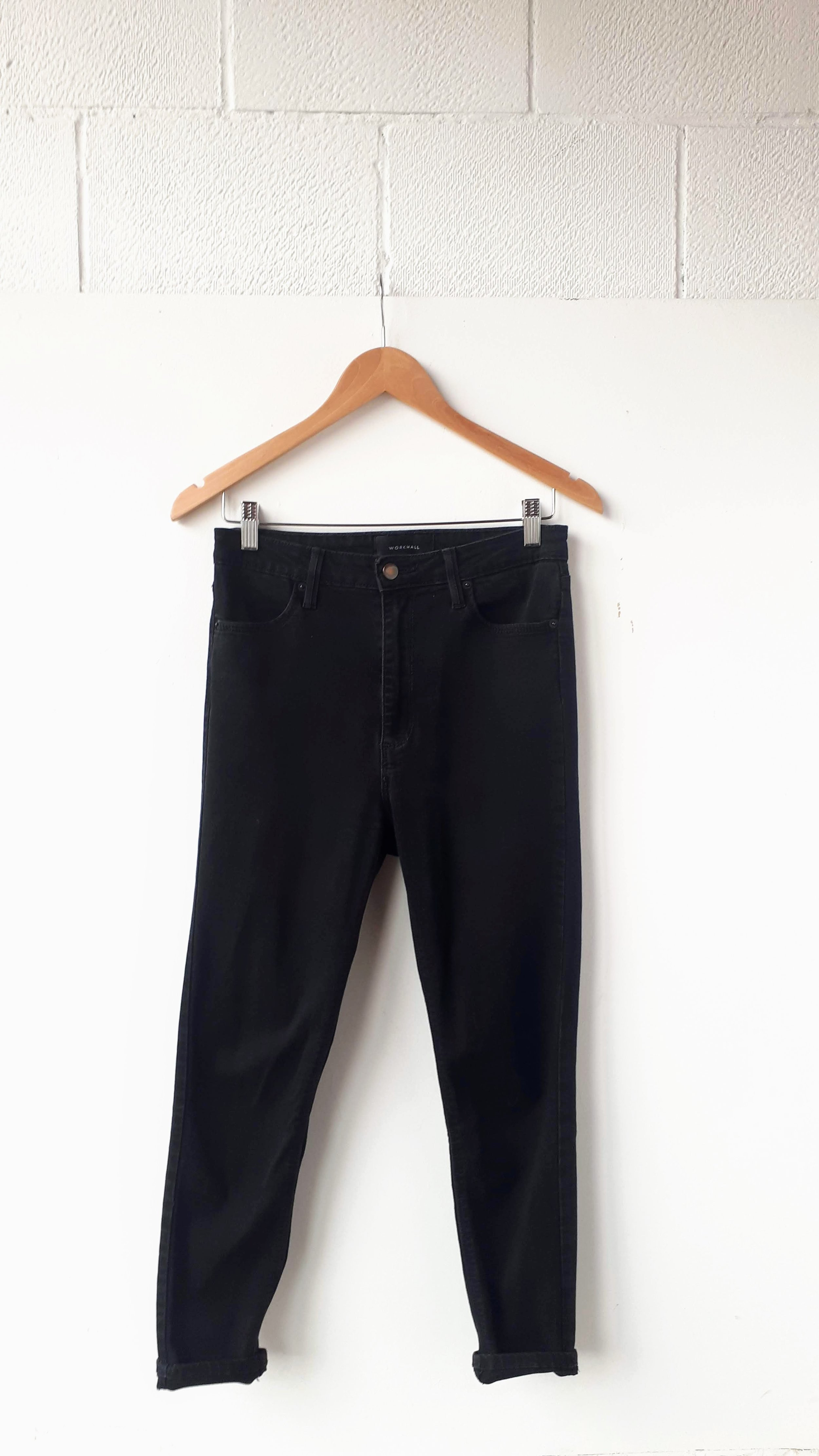 Workhall jeans; Size 29, $32