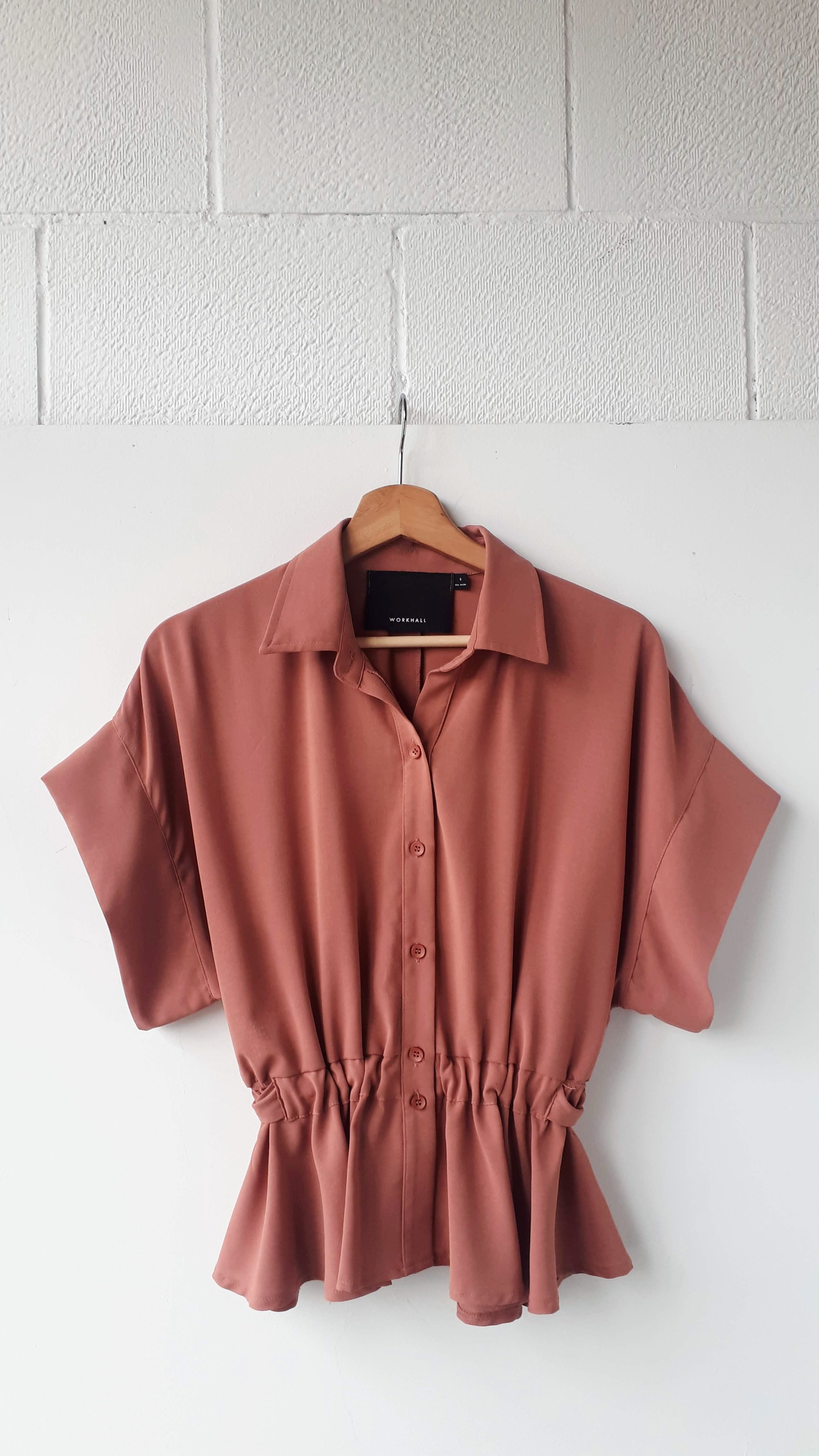 Workhall top; Size S, $38
