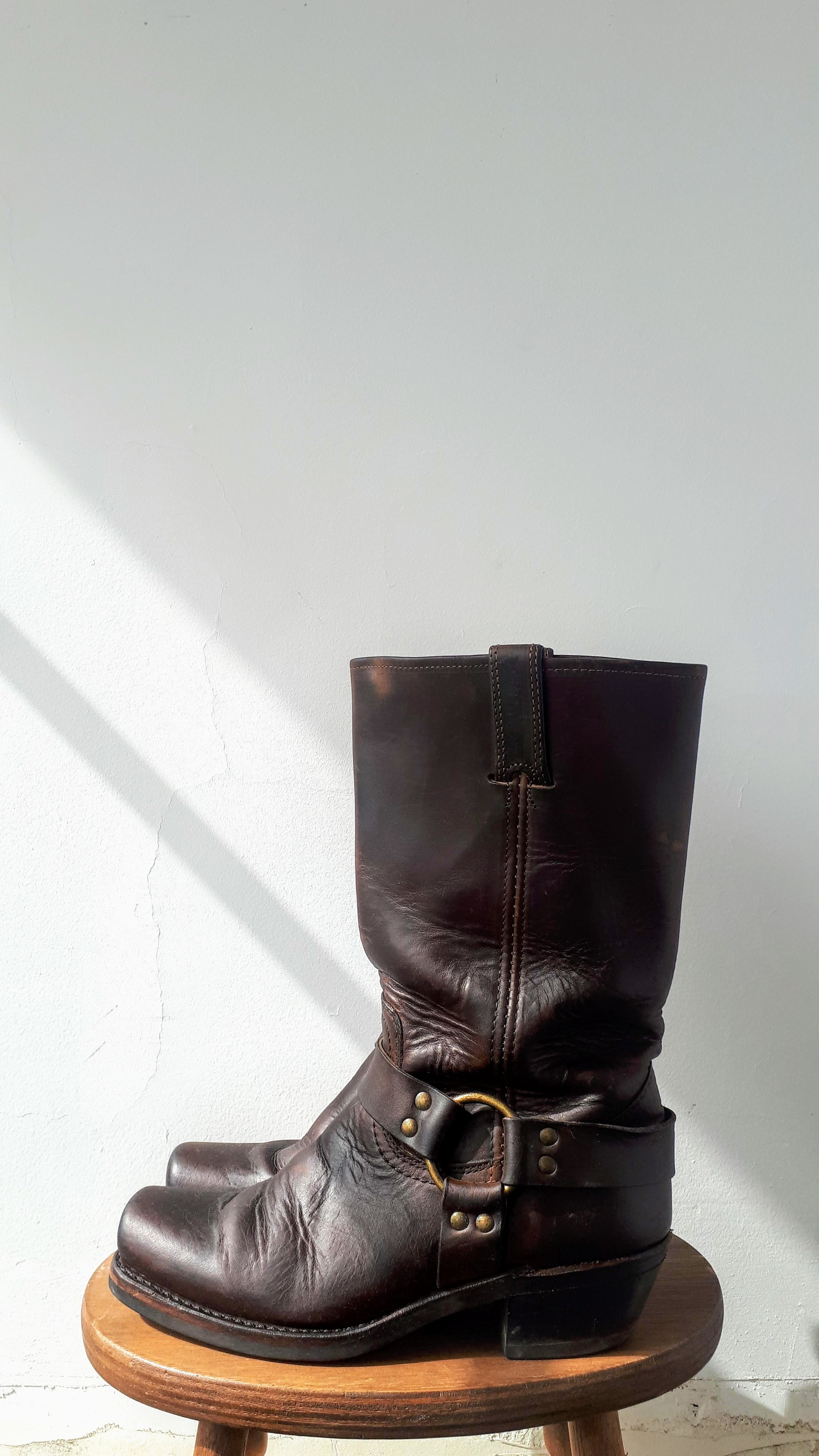 Frye boots; Size 8, $150