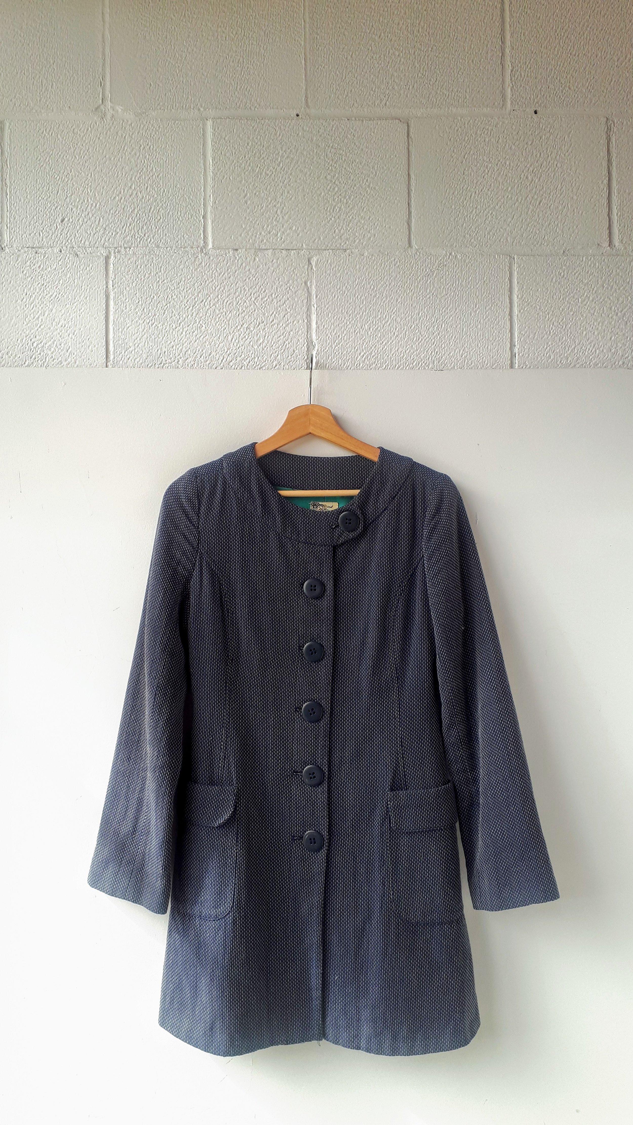 Tulle coat; Size M (not medium!), $48