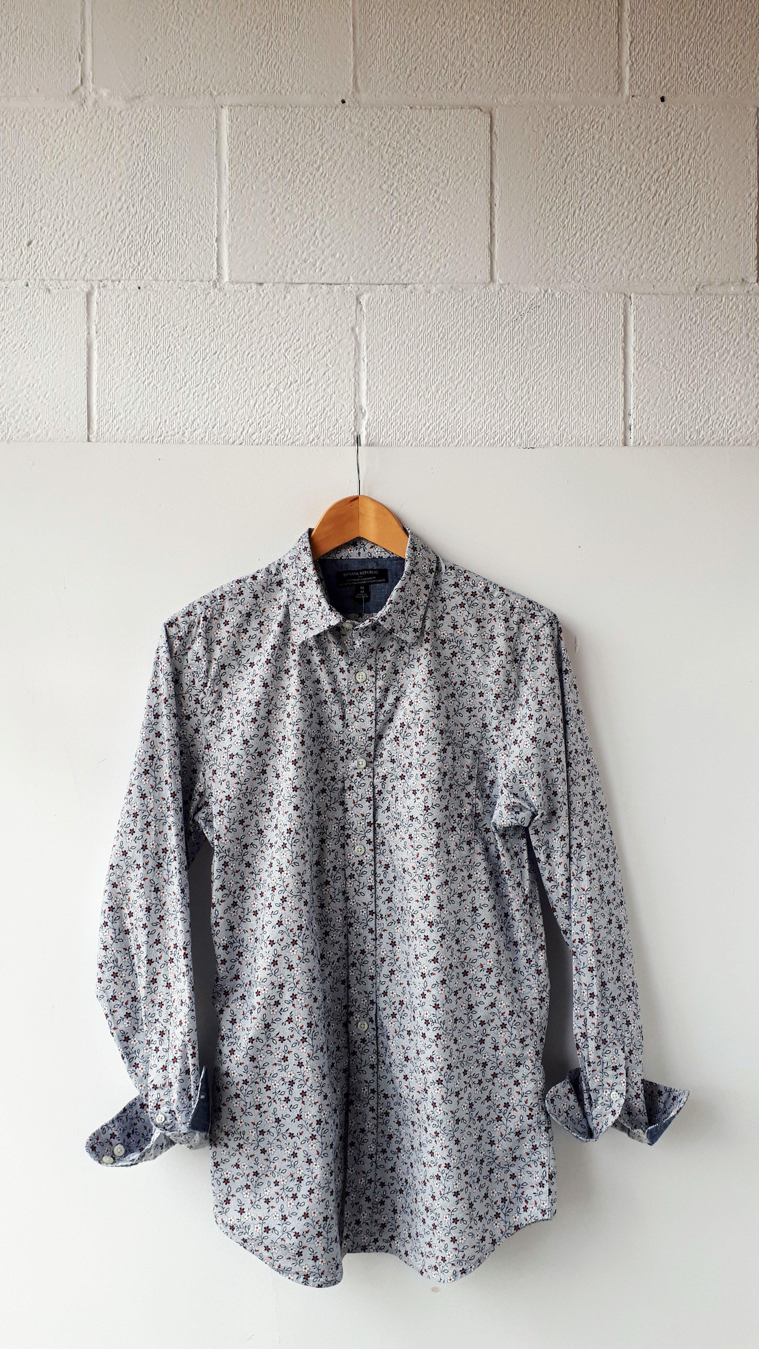 Banana Republic shirt; Men's size M, $24