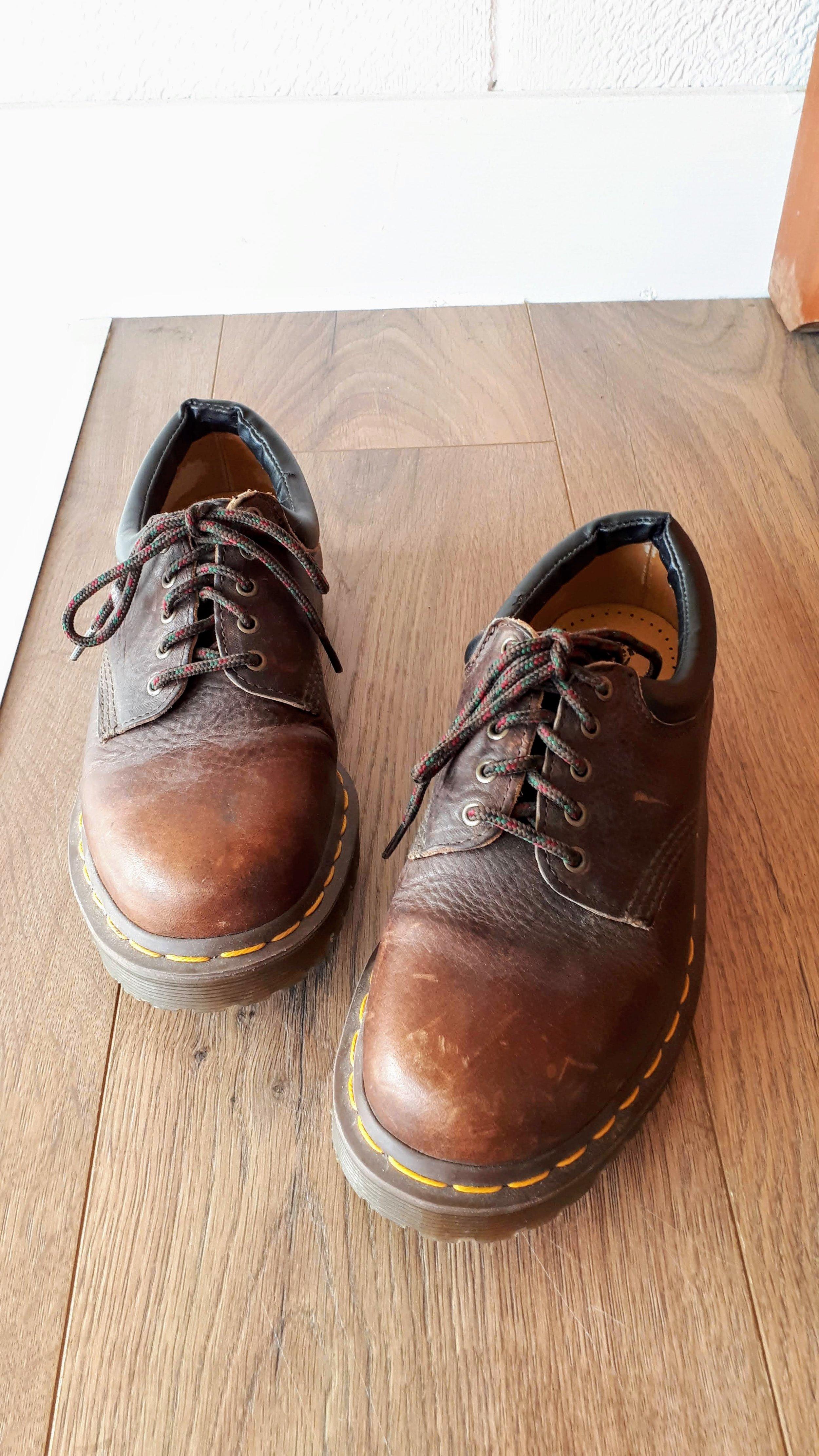 Doc Marten shoes; Size women's 8, men's 6; $65