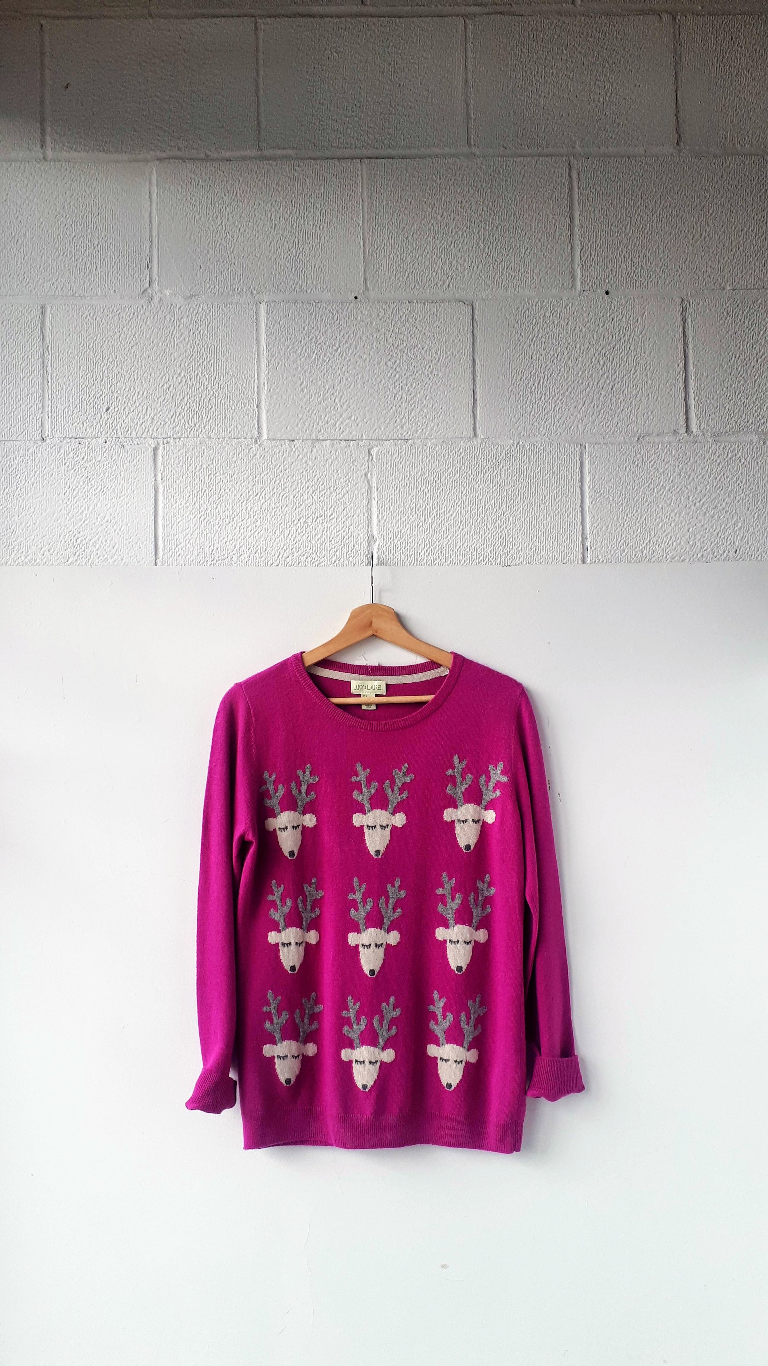 Lucy and Laurel sweater; Size L, $30