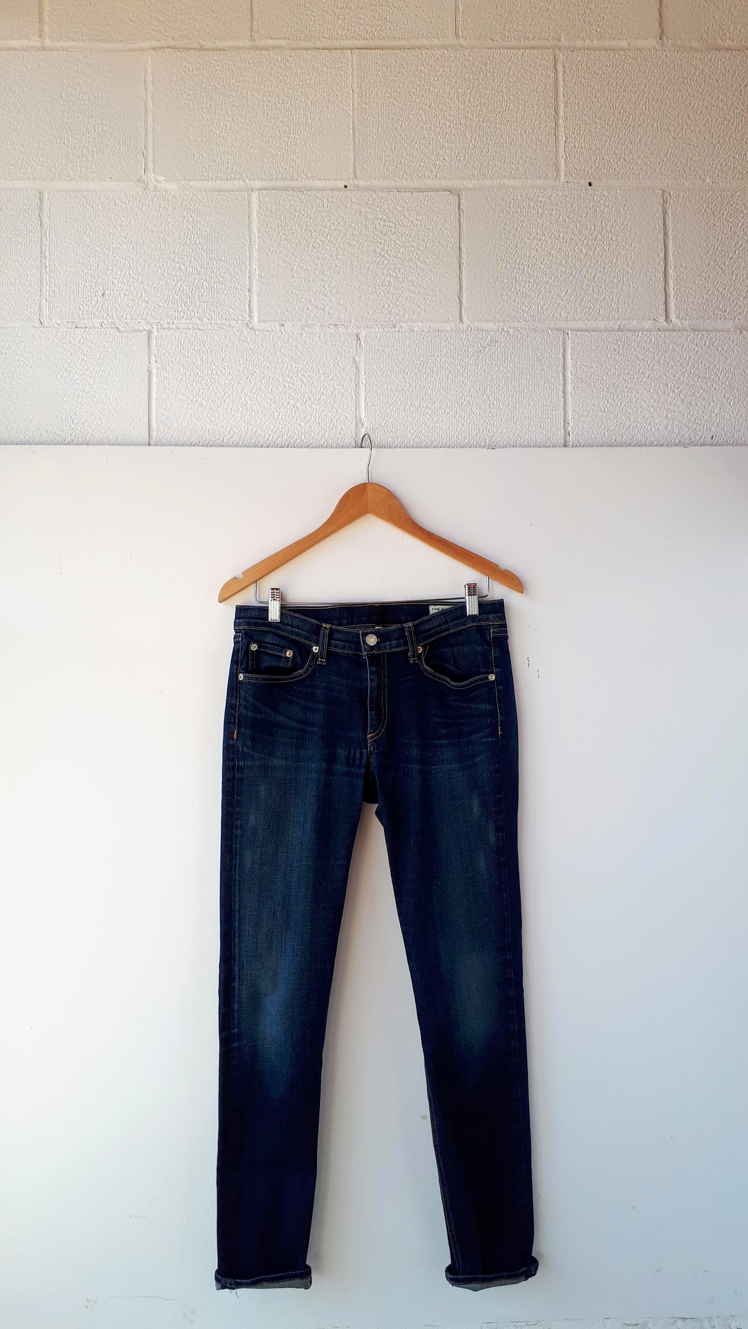 Rag and Bone pants; Size 31 (but, you know); $38