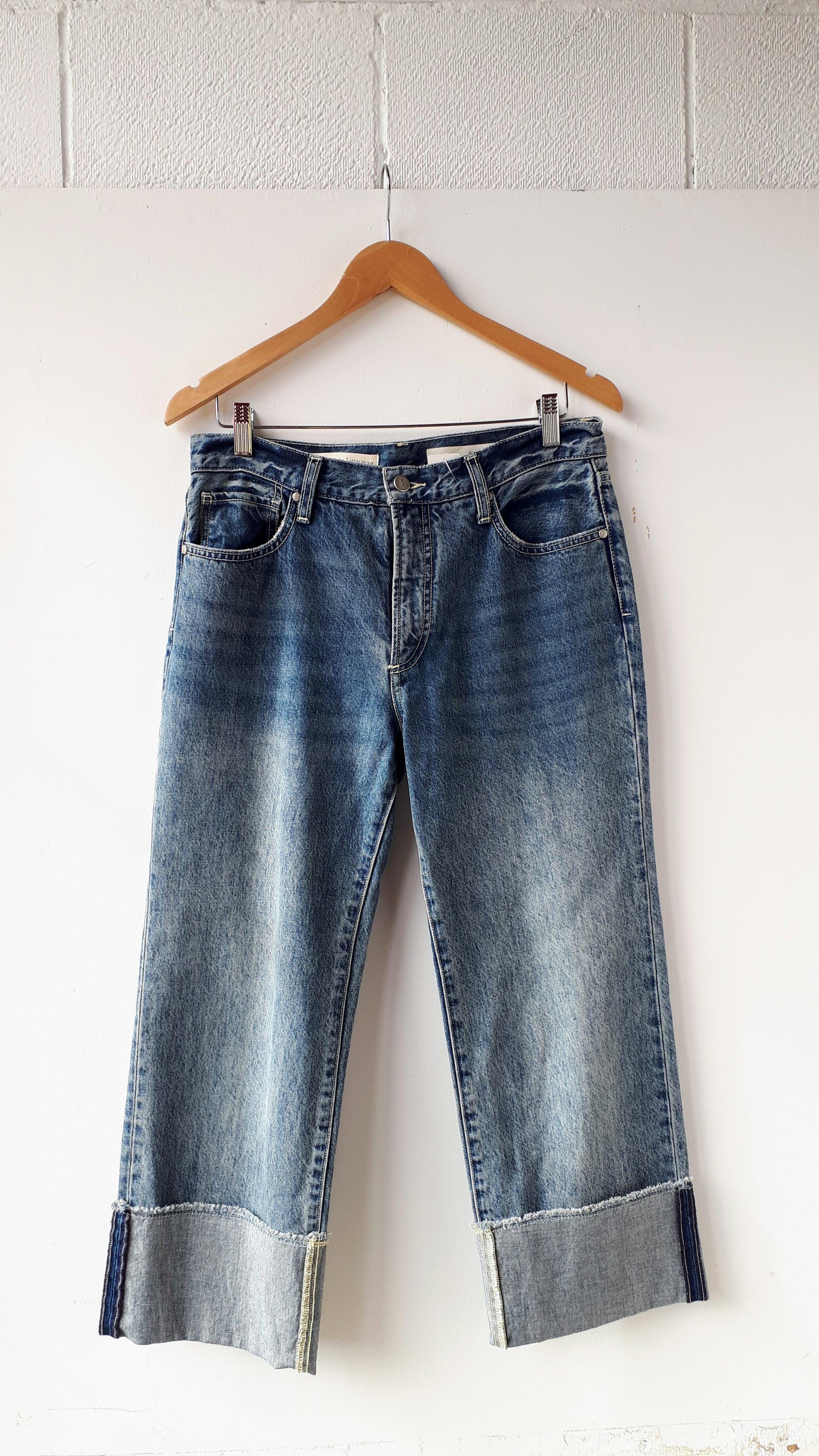 Pilcro pants; Size 28, $40