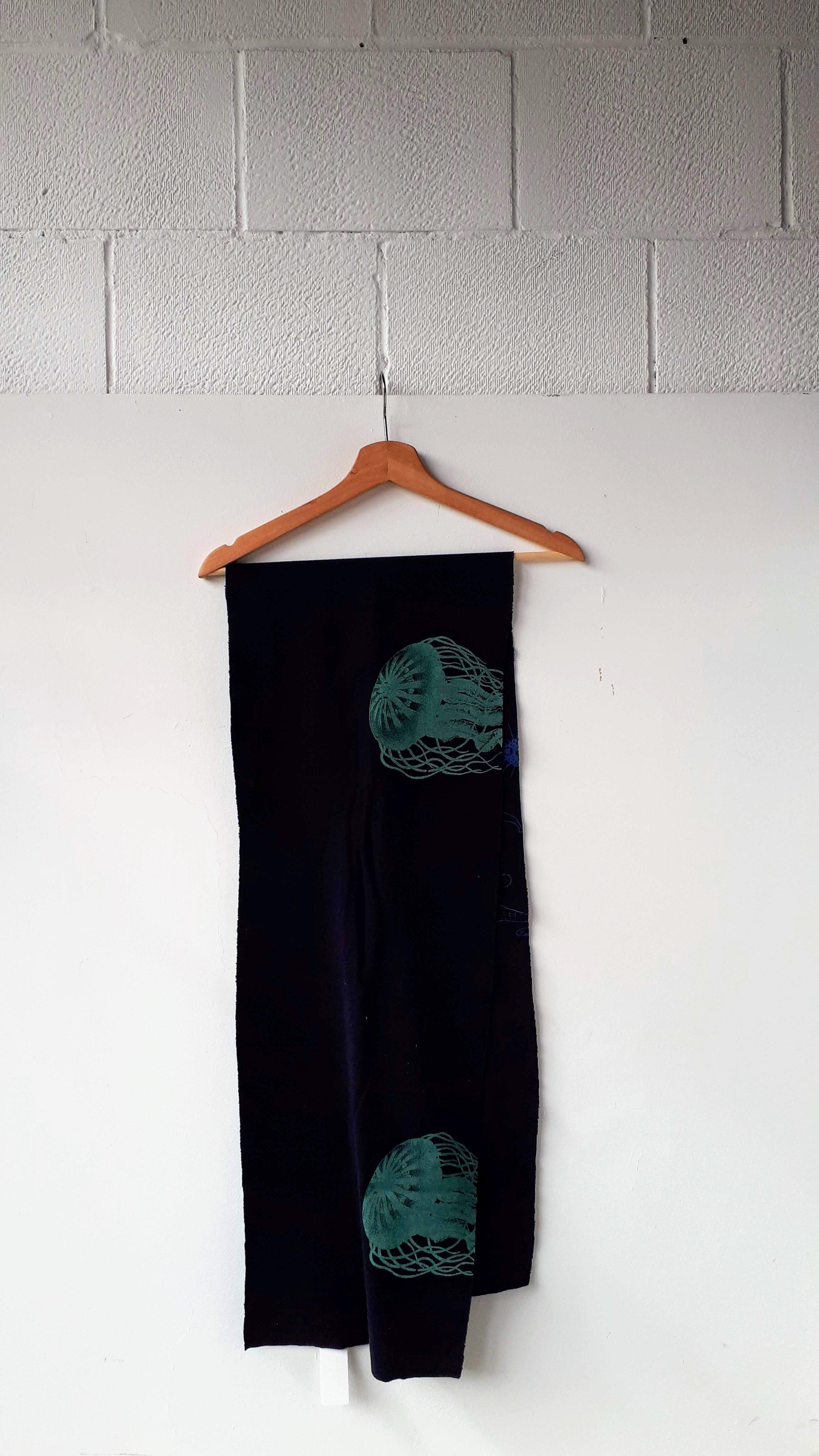 Smoking Lily scarf, $26