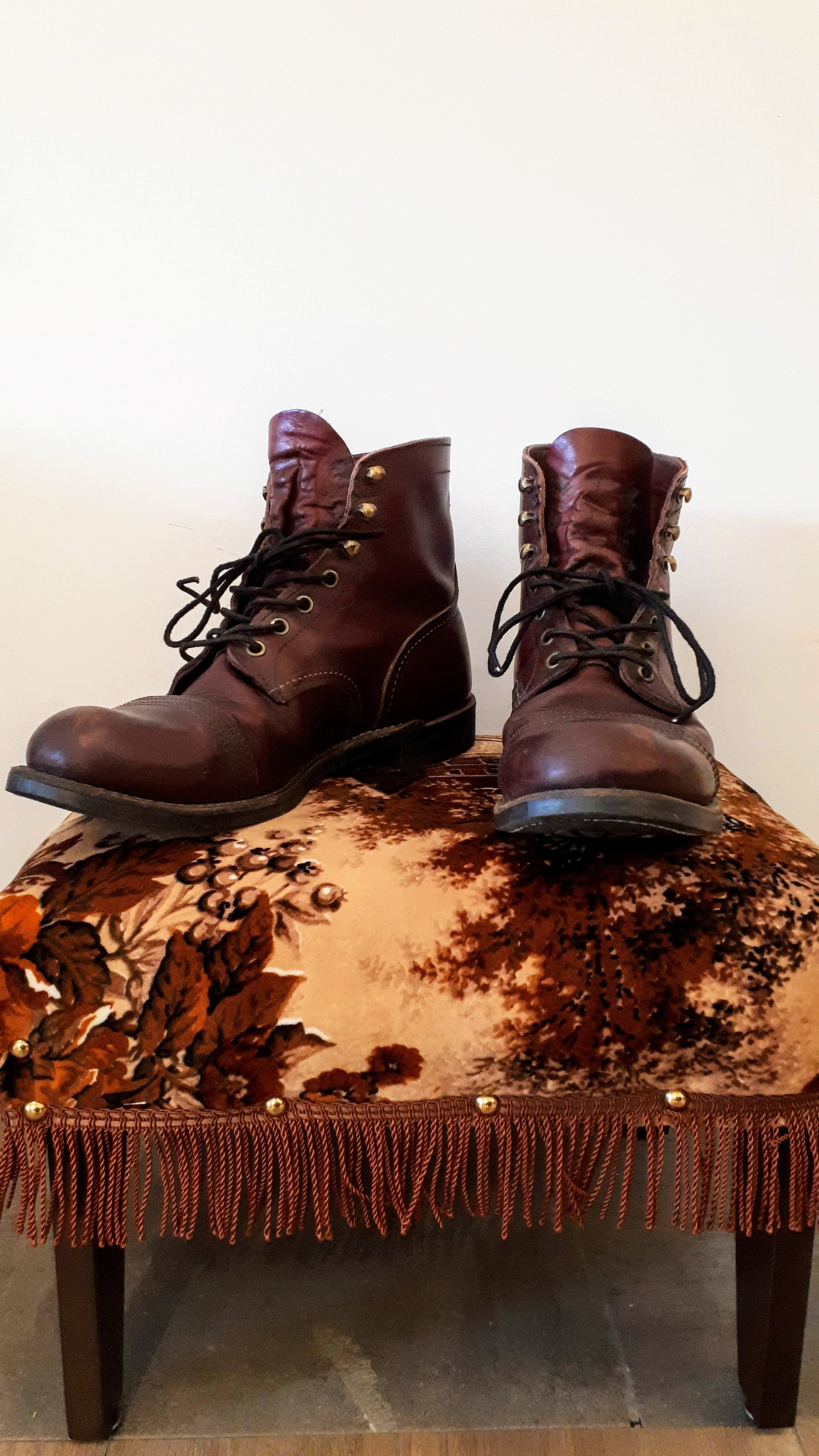 Redwing boots; Men's size 8.5 (women's size 10), $62